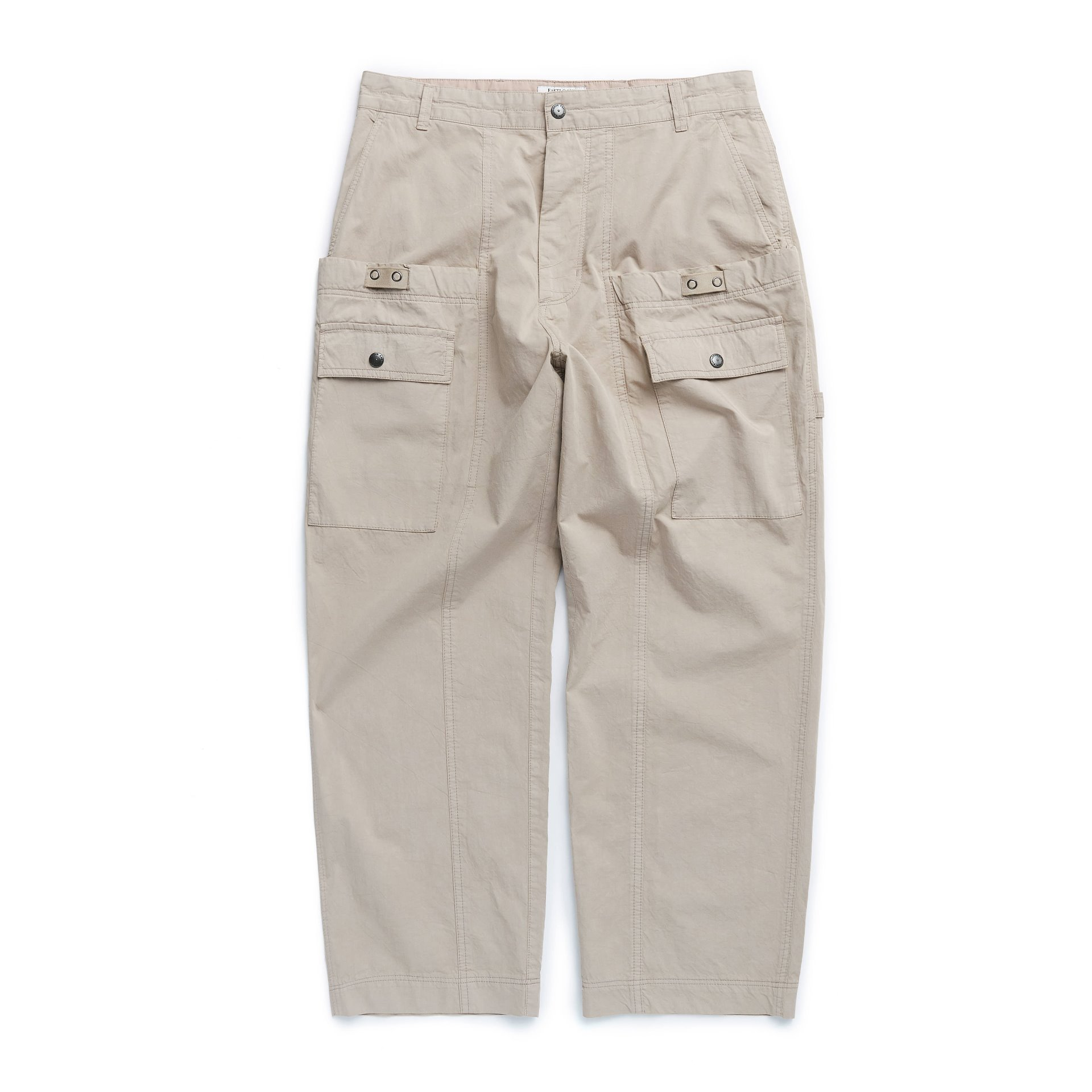 WAGON PANTS (DYED BEIGE)