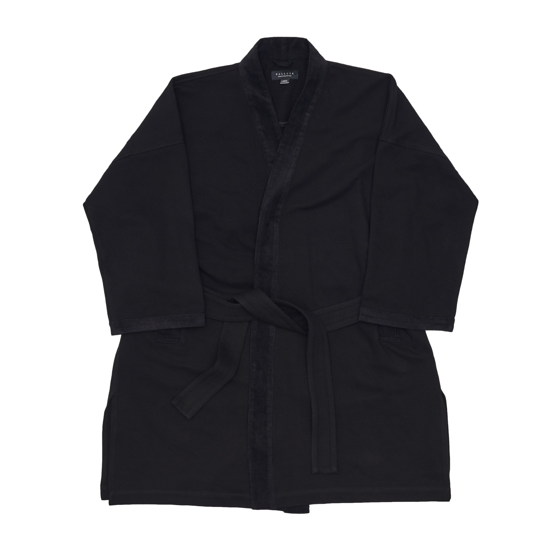 EASY ROBE COAT (BLACK)