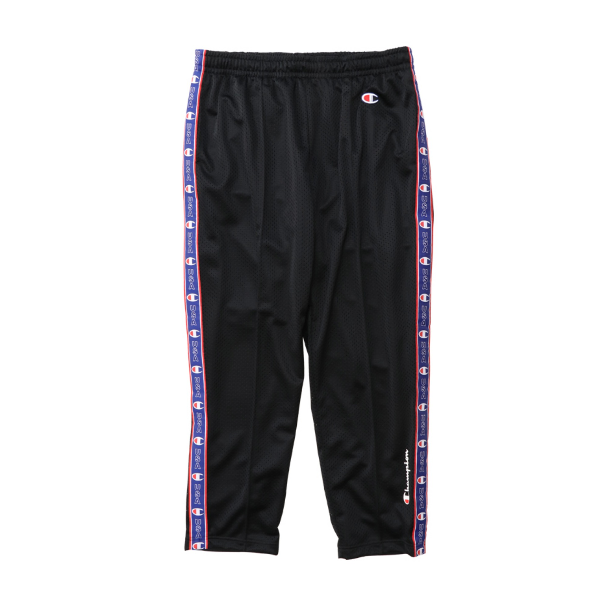 CHAMPION MESH LONG PANTS - BLACK (C3-P203)