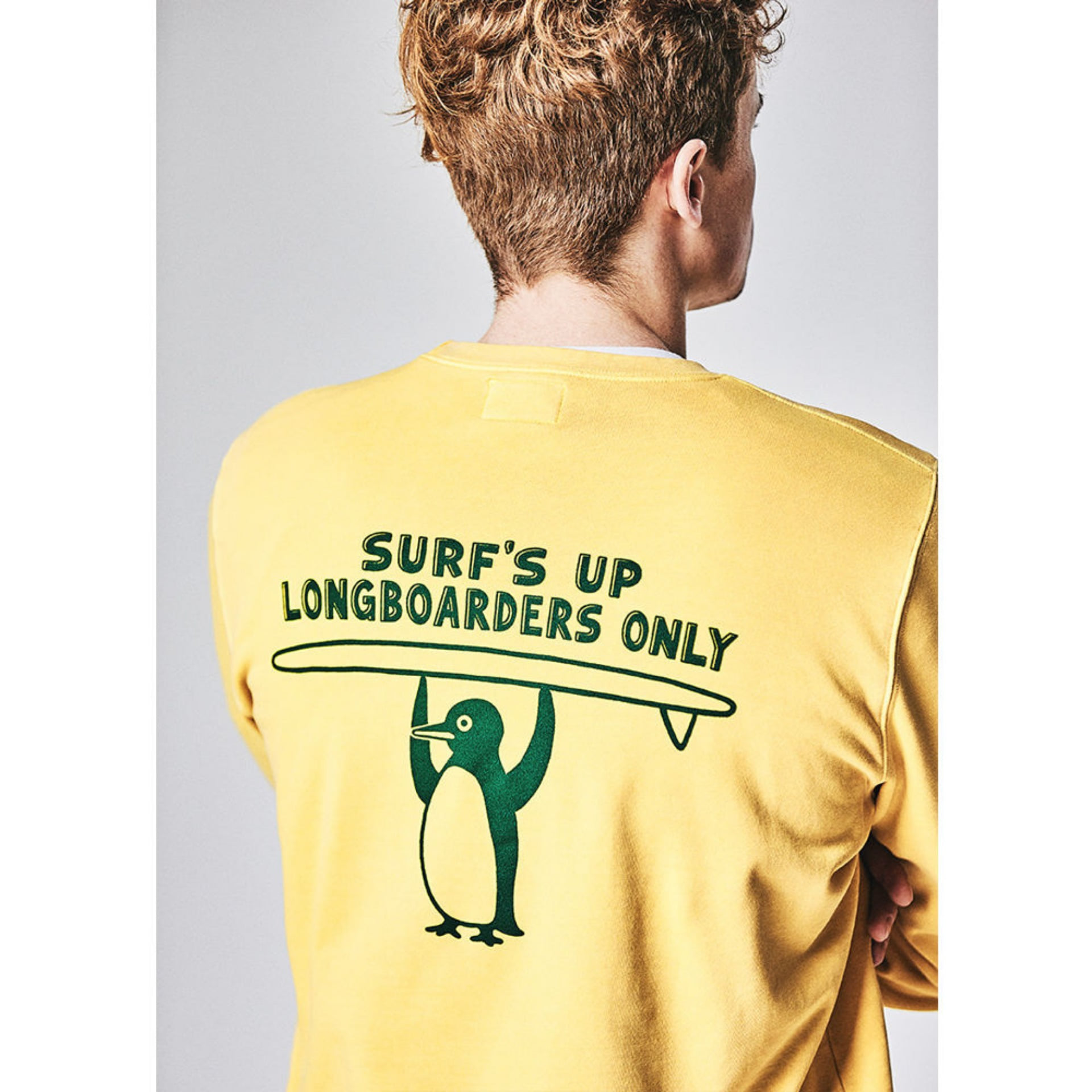 Original University Sweat PENGUIN SURF (sand yellow)