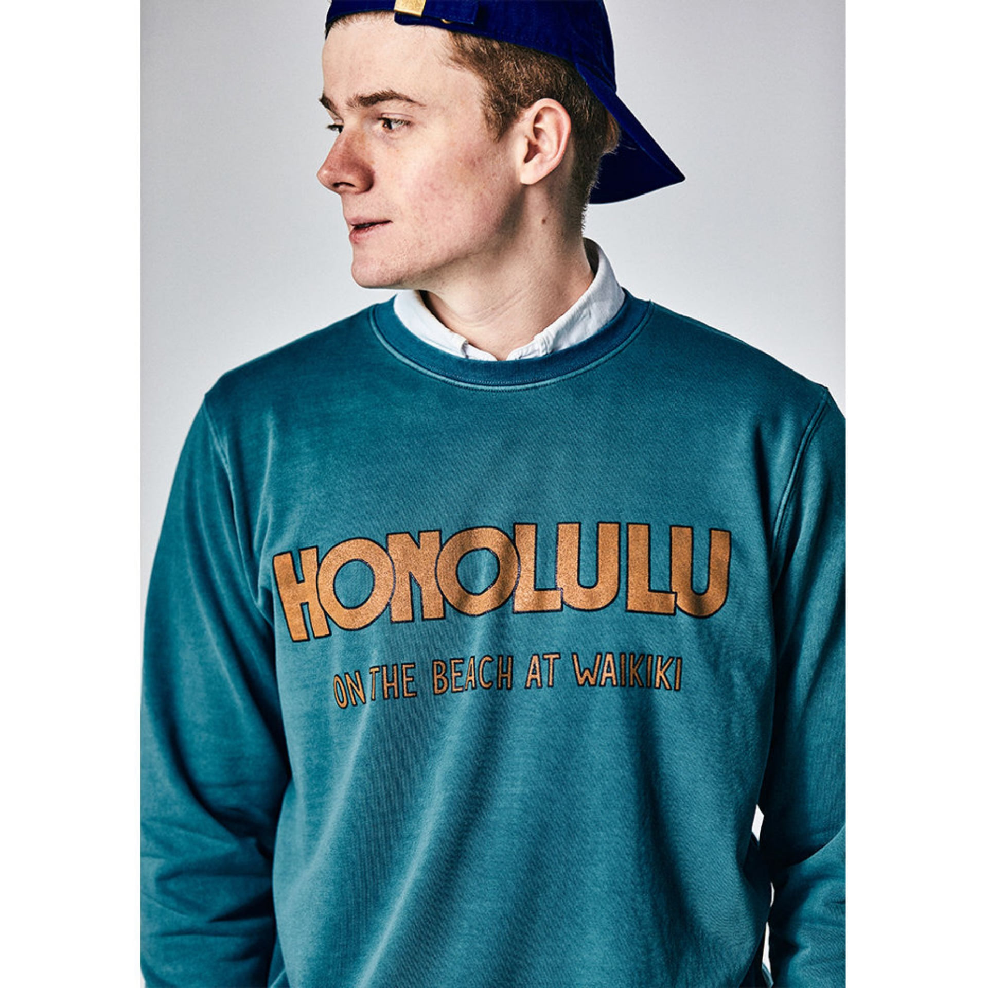 Original University Sweat HONOLULU(palm green)