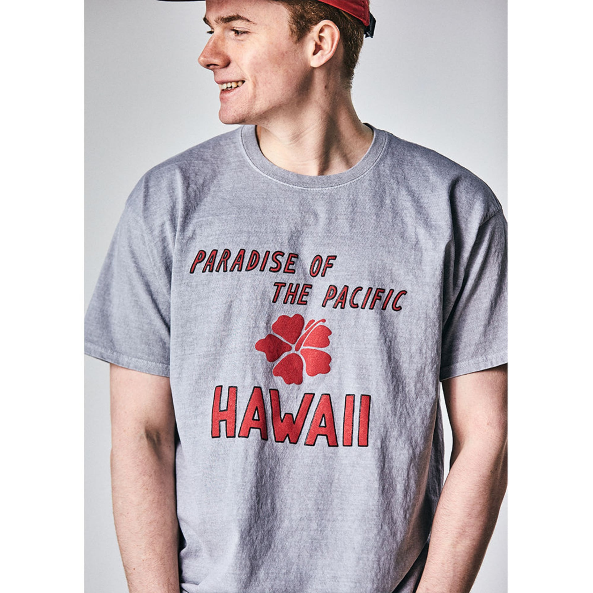 Original University T-shirt HAWAII(classic grey)