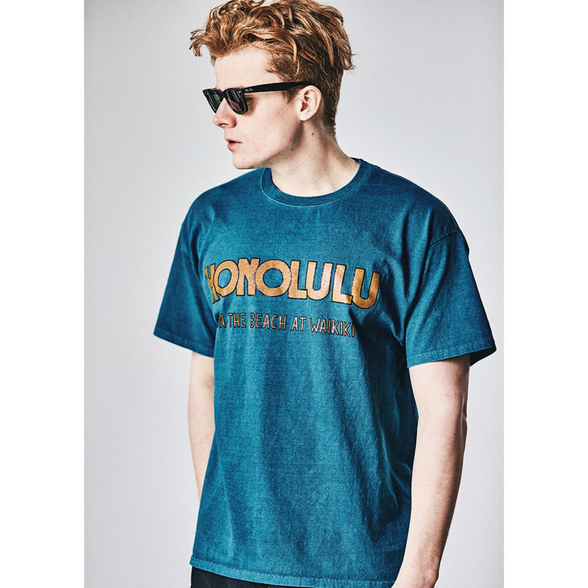 Original University T-shirt HONOLULU(palm green)