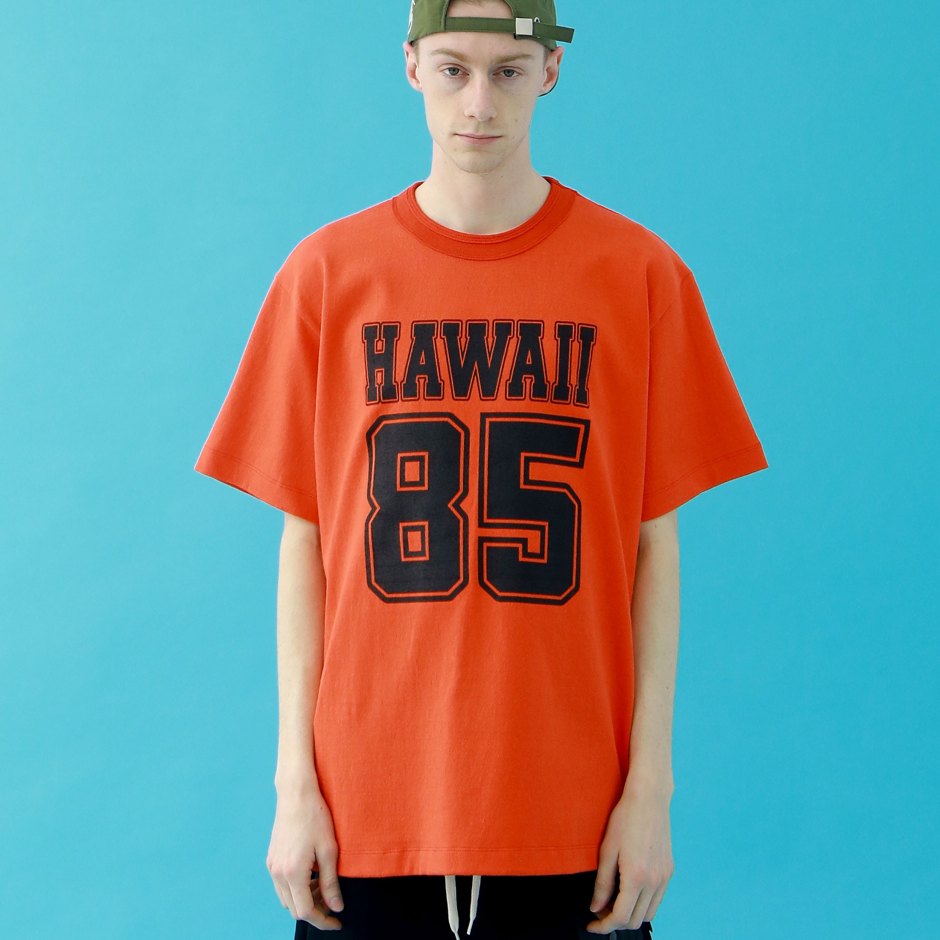 HAWAII 85 T-SHIRTS(DARK ORANGE)