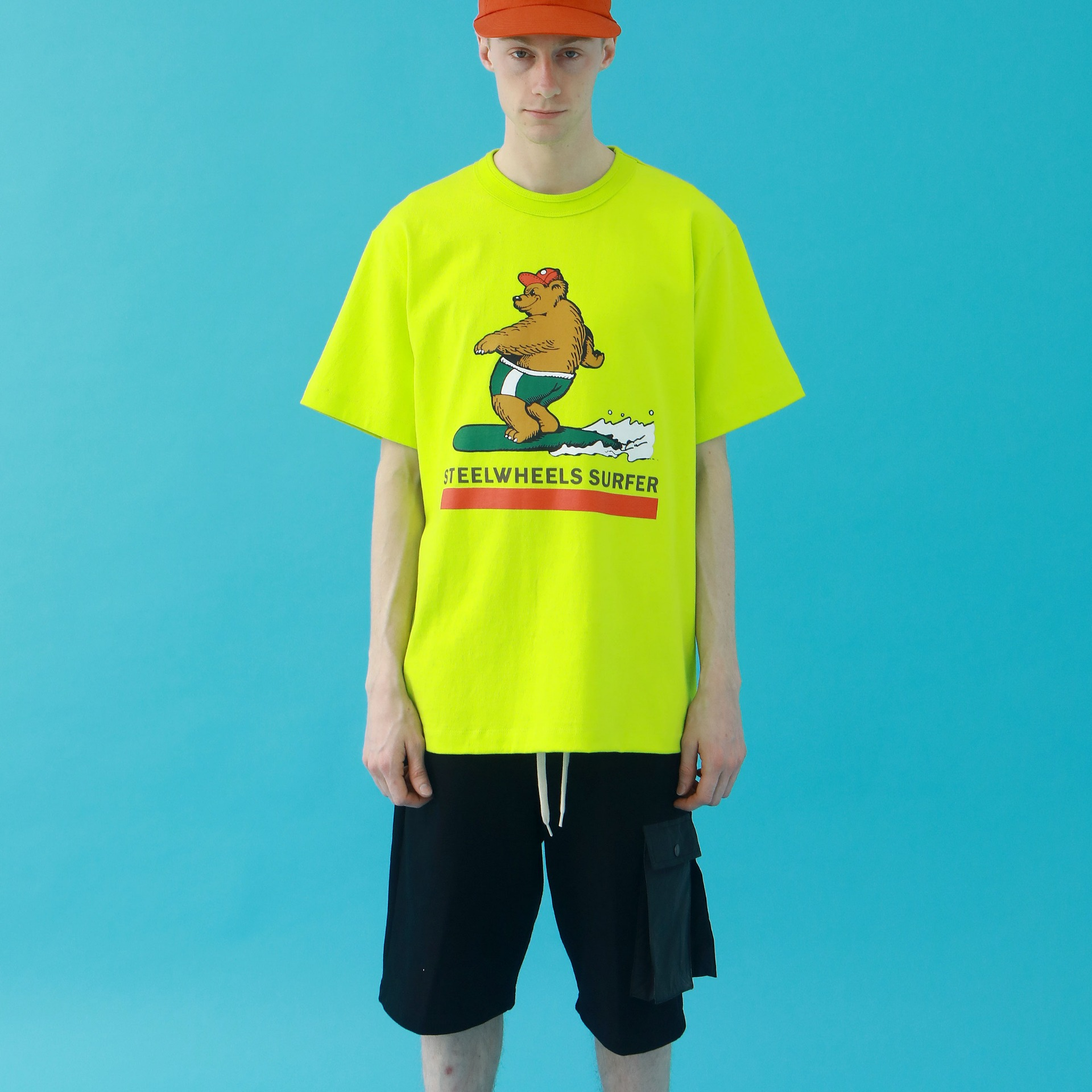 SURF BEAR 2 T-SHIRT(NEON)
