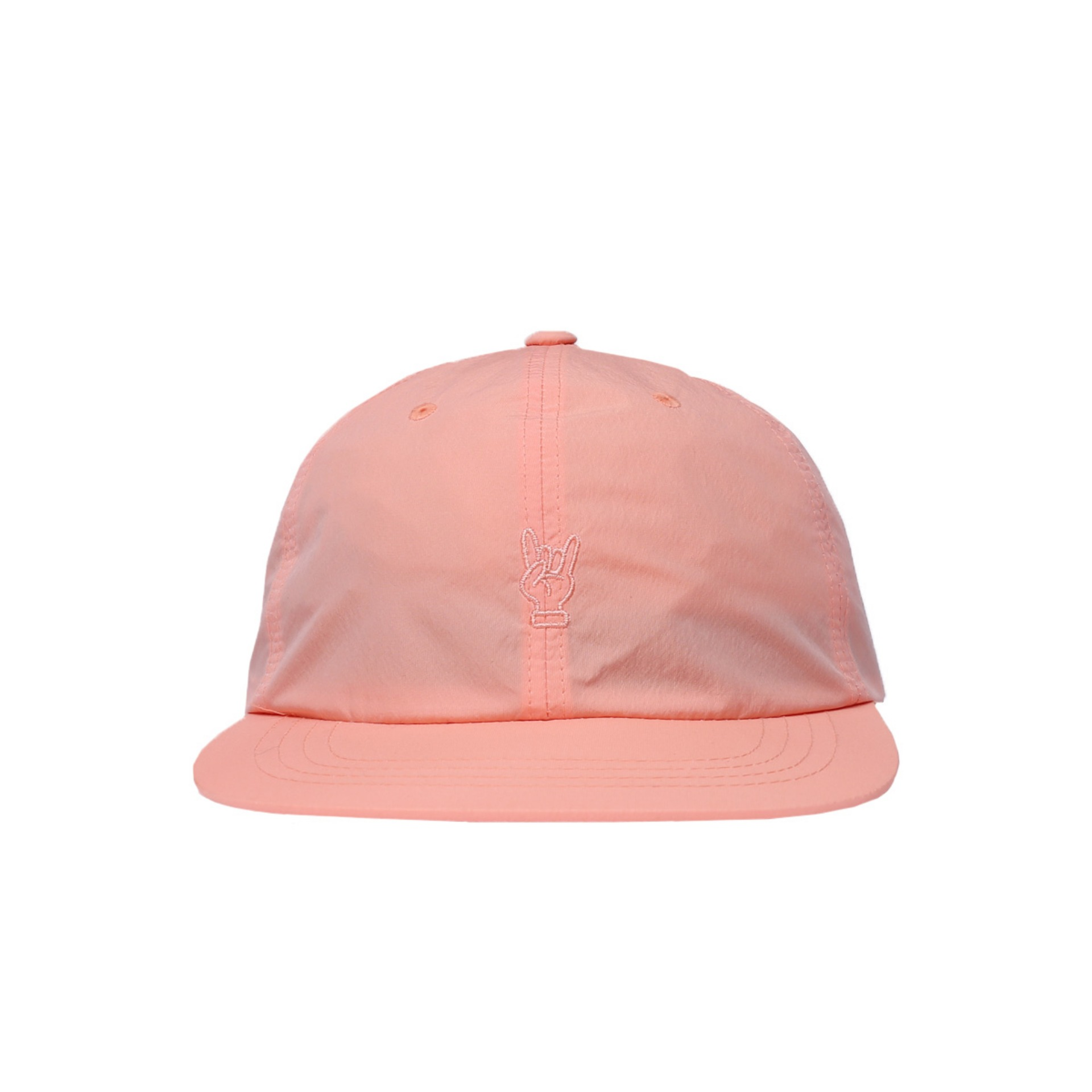 6PANNEL BALL CAP (CORAL PINK)