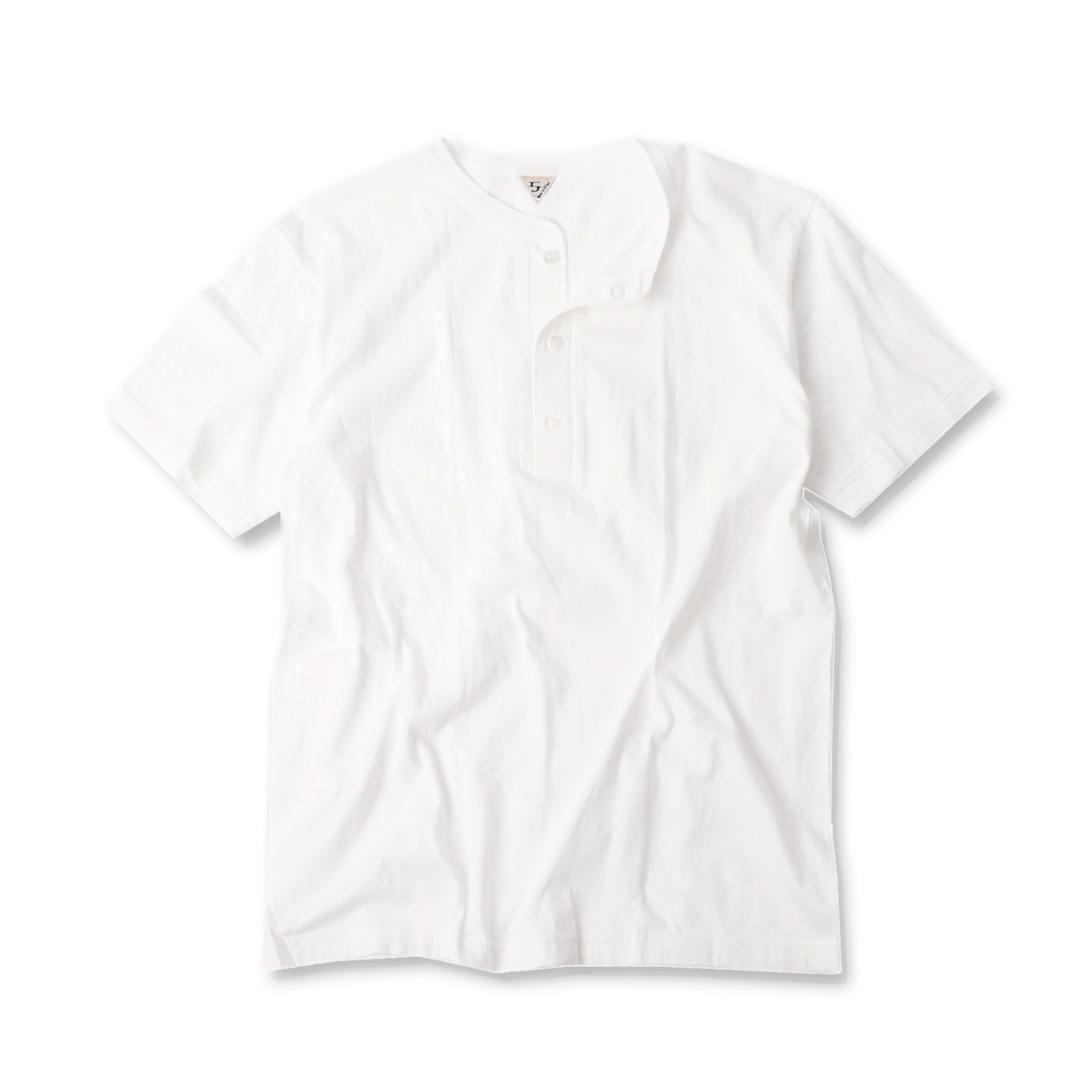 [HENRI]T-shirtShort Sleeve T-Shirt(White)