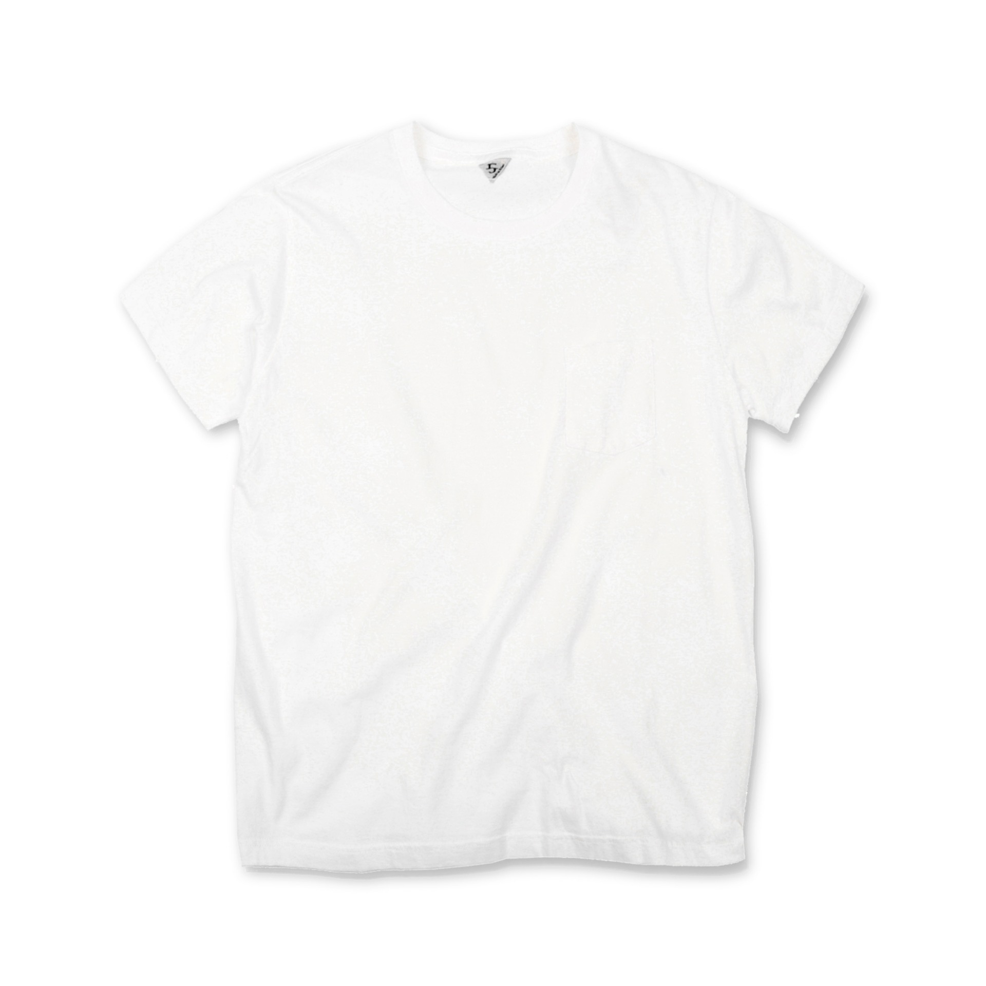 [SUNNY]Pocket T-shirtShort Sleeve T-Shirt(White)