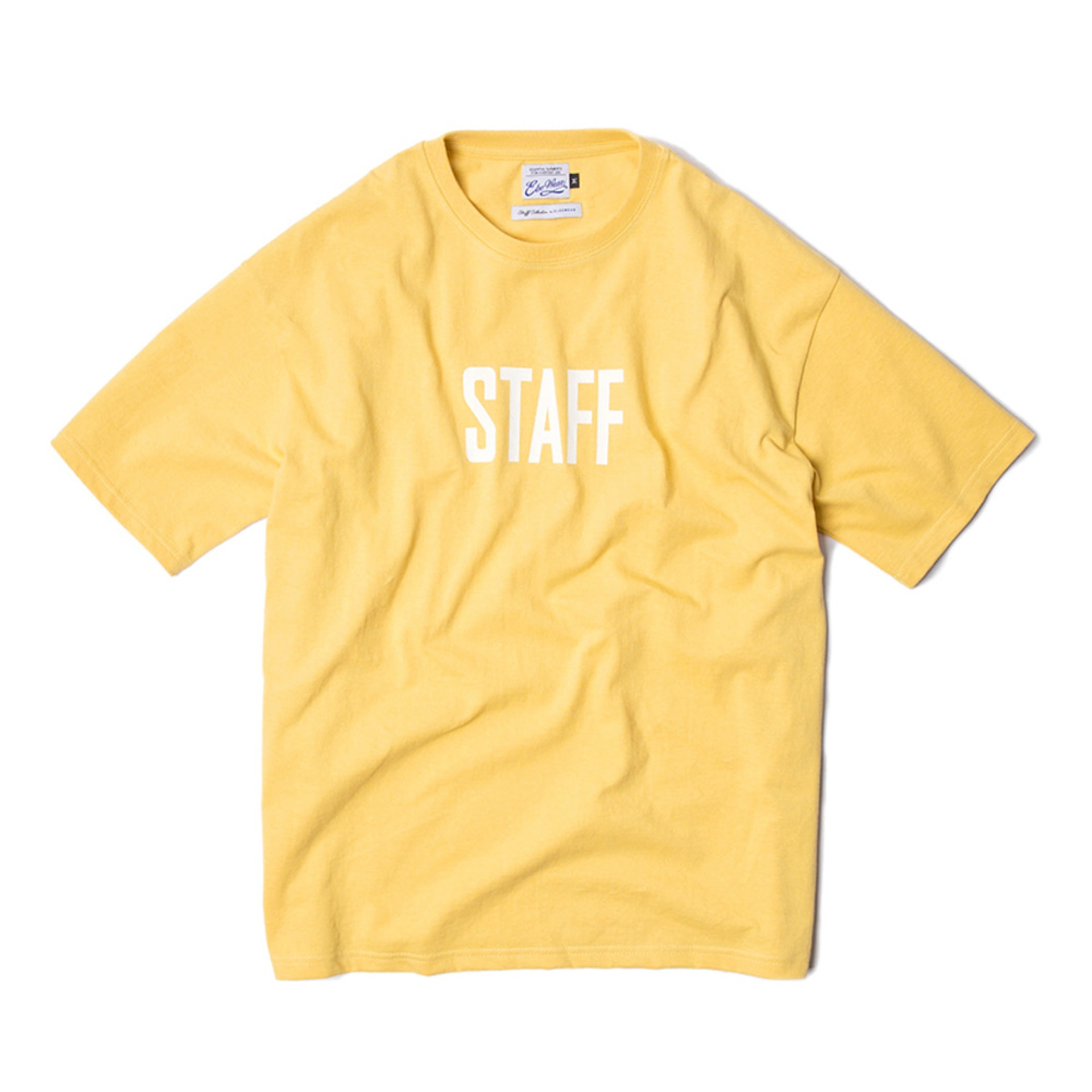 STAFF T-SHIRTS(YELOW)