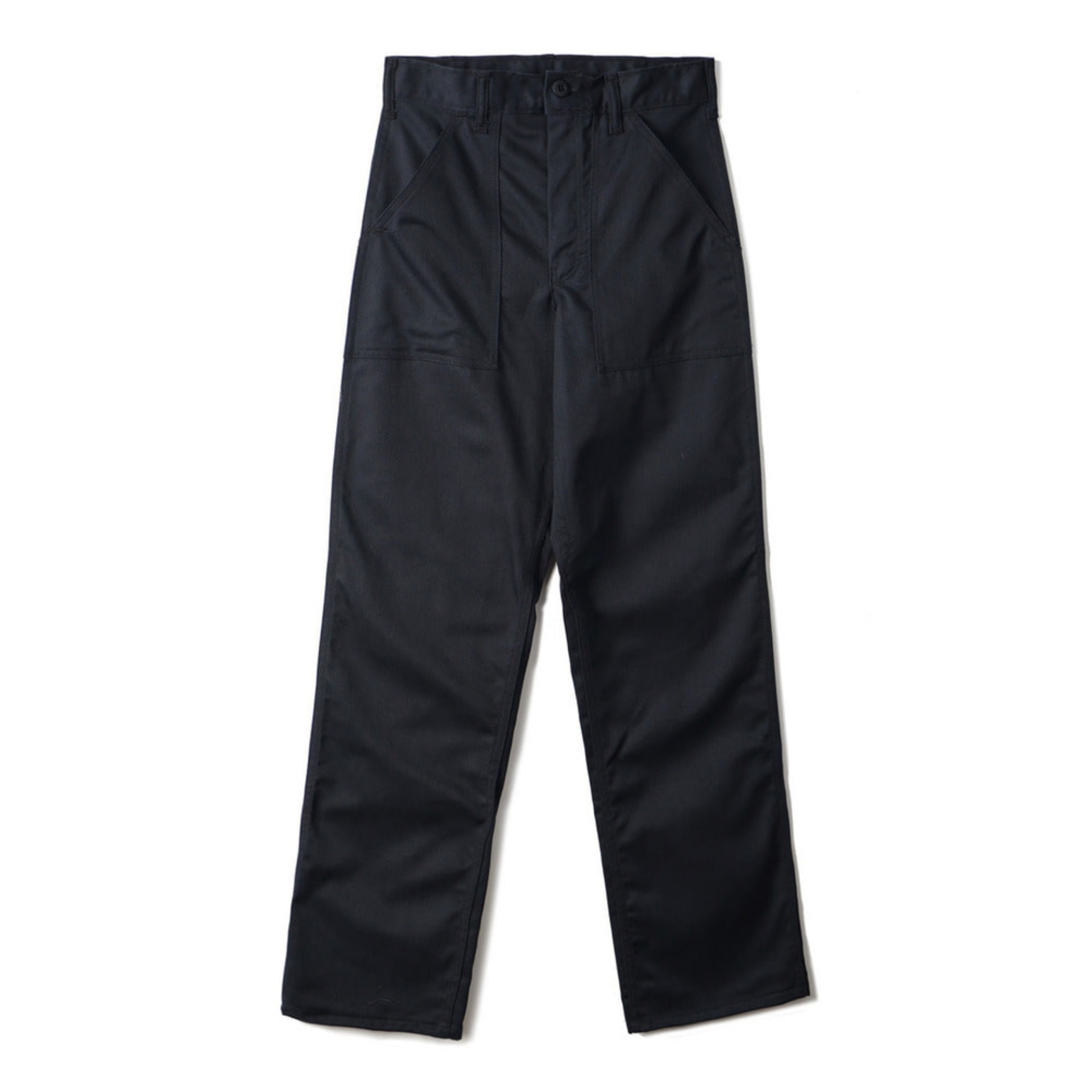 4 Pocket Fatigue Pants 1108P Black Twill(BLACK)