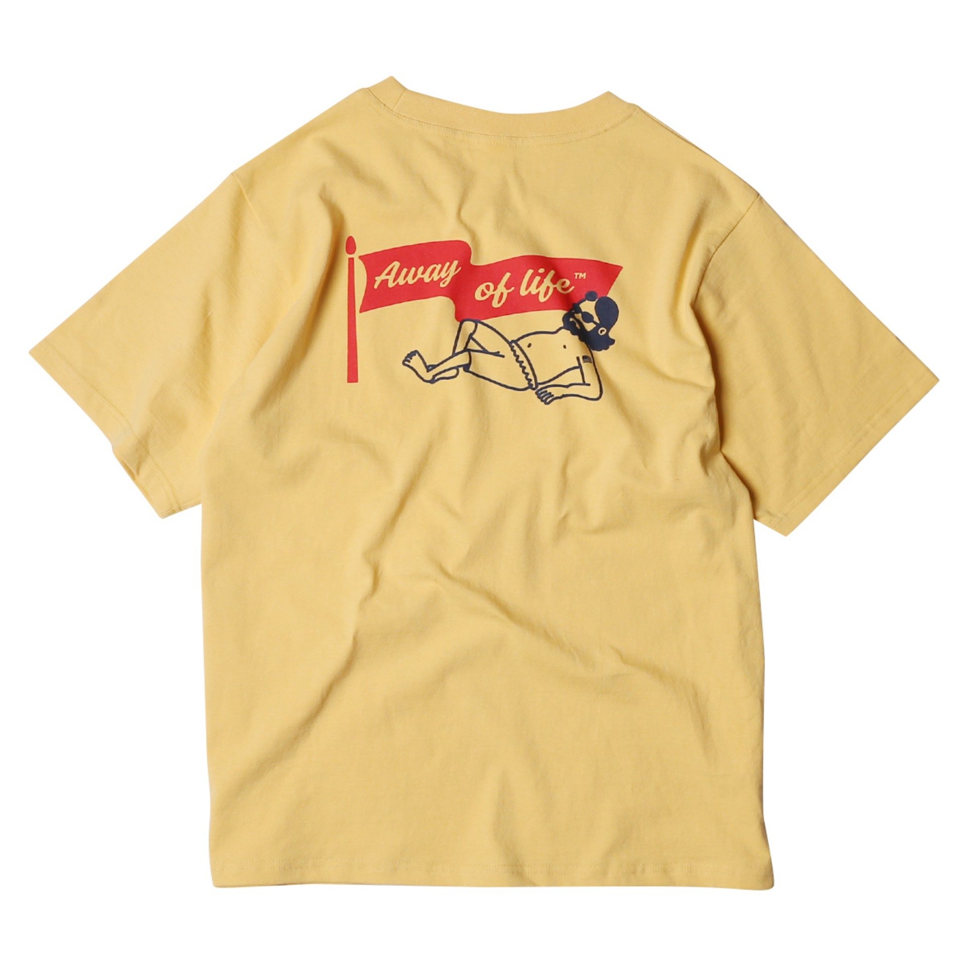 UNCLE BEACH T SHIRTS(YELLOW)