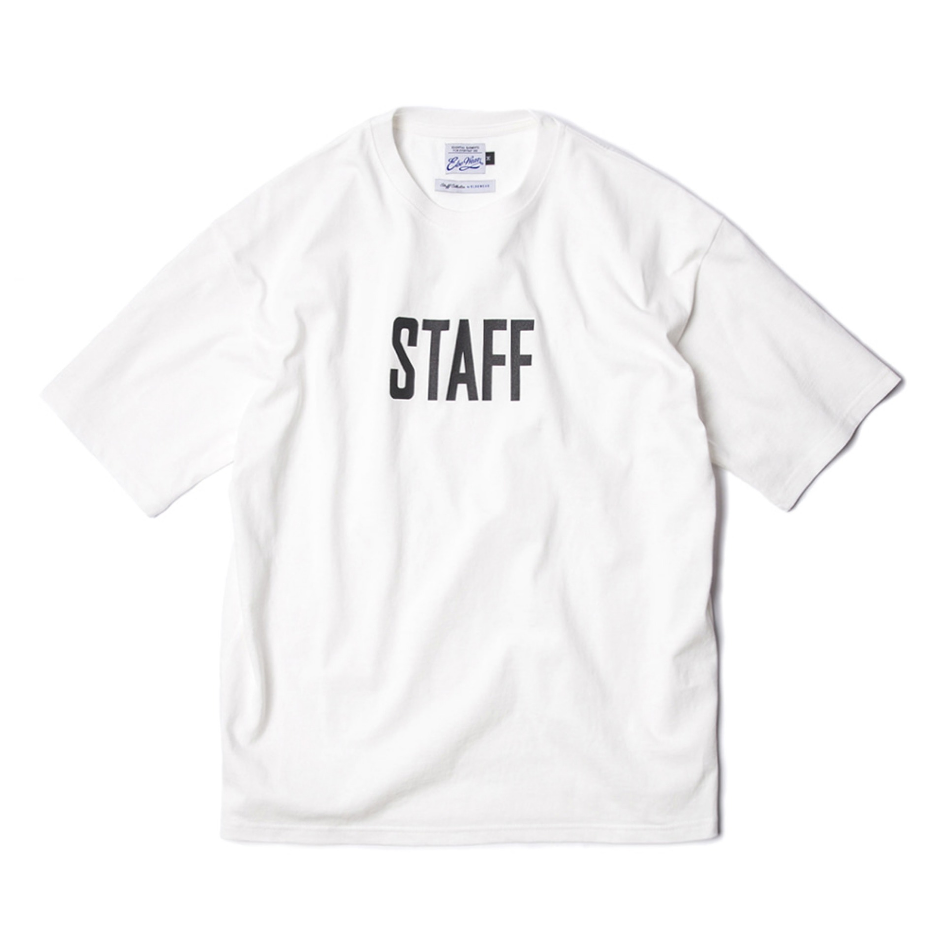 STAFF T-SHIRTS(WHITE)
