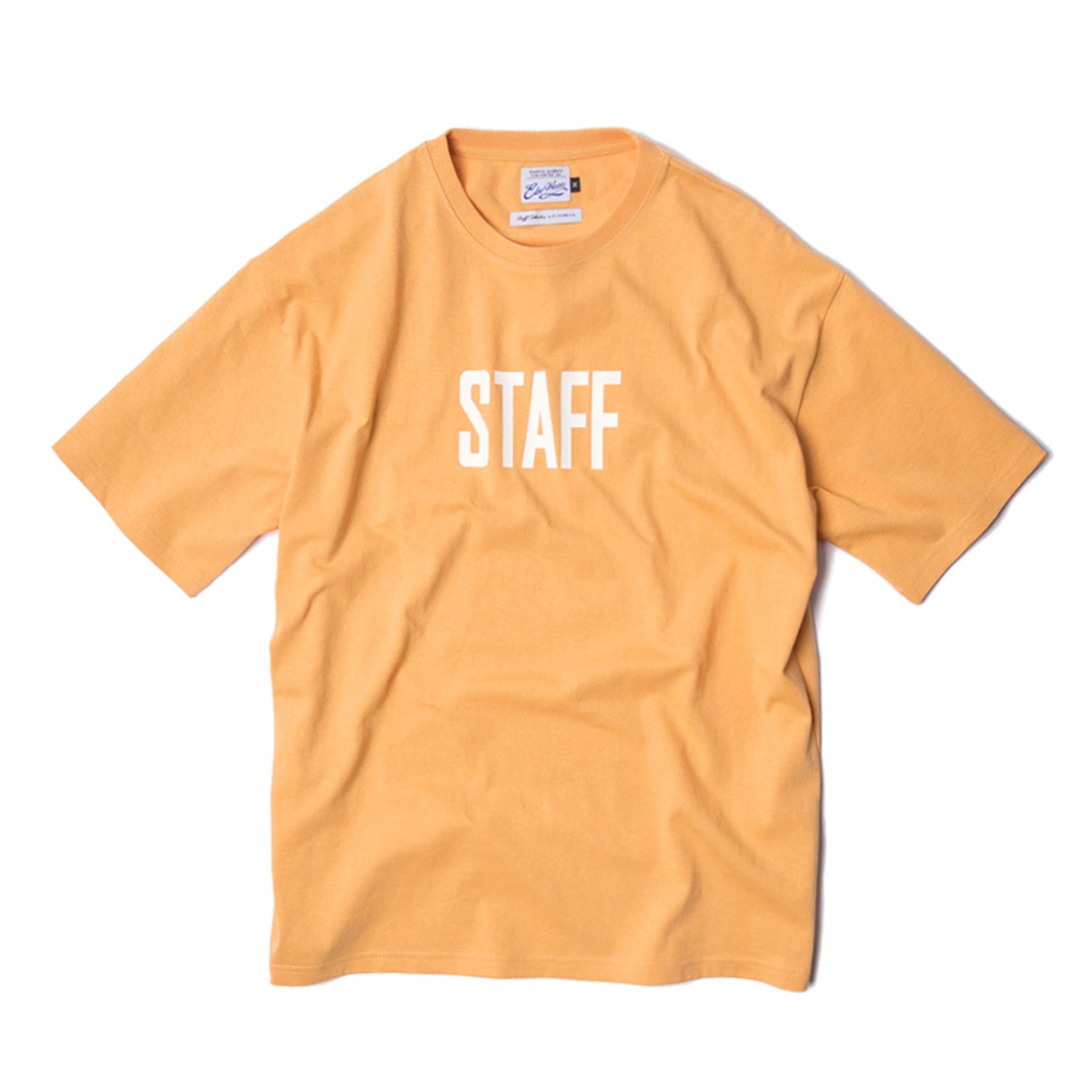 STAFF T-SHIRTS(ORANGE)