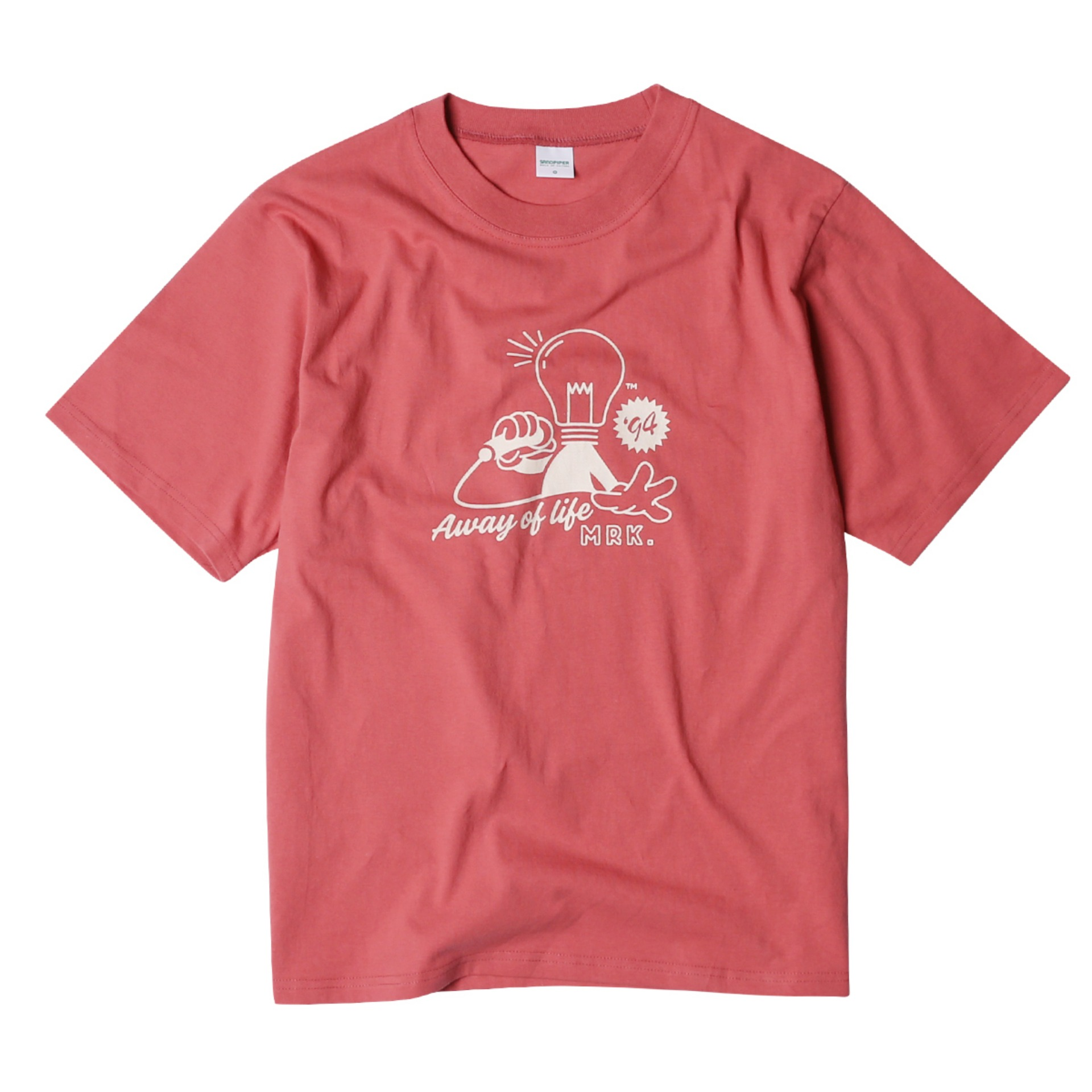 94`S WOODSTOCK T SHIRTS(FADE BURGUNDY)