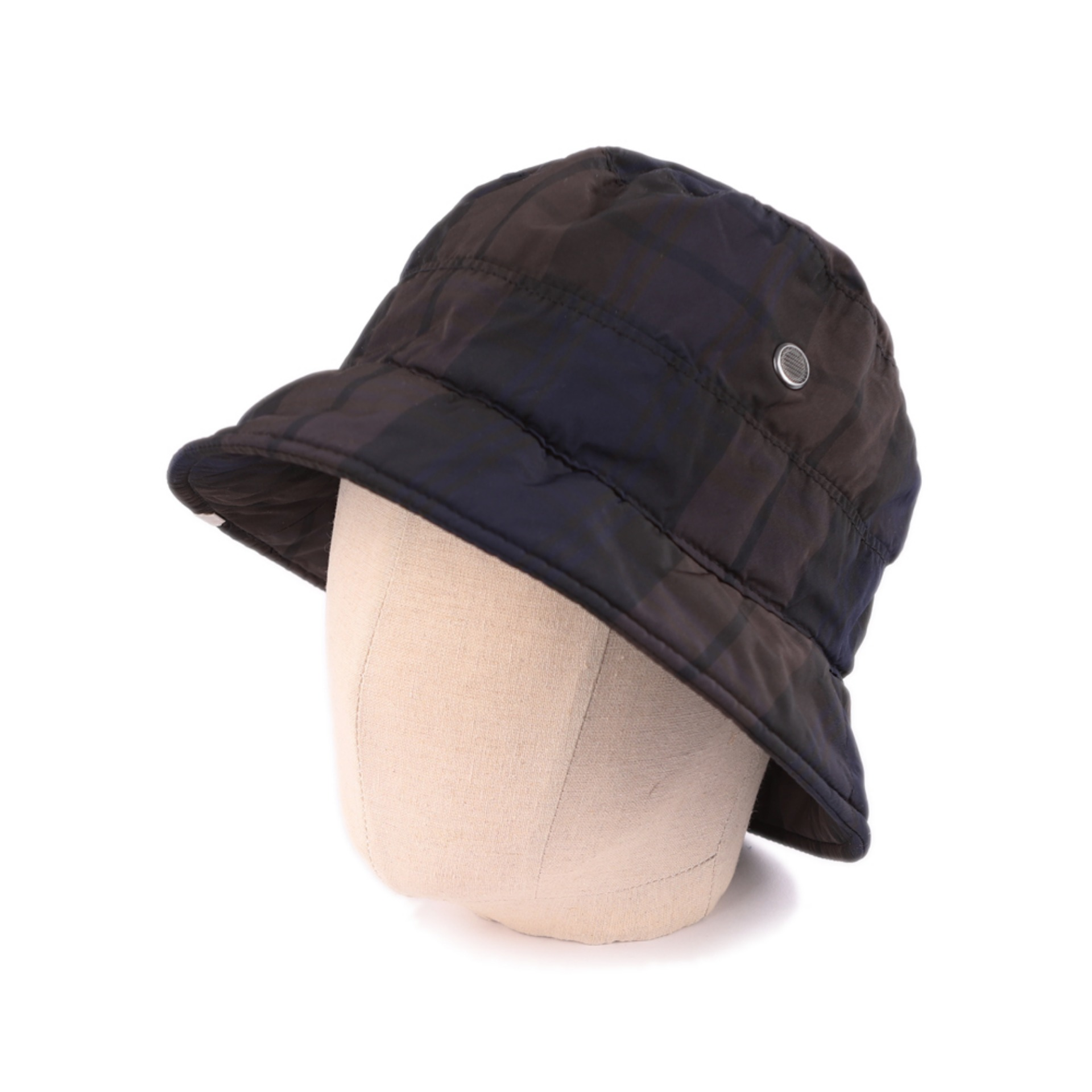SAFARI HAT(BROWN X NAVY)