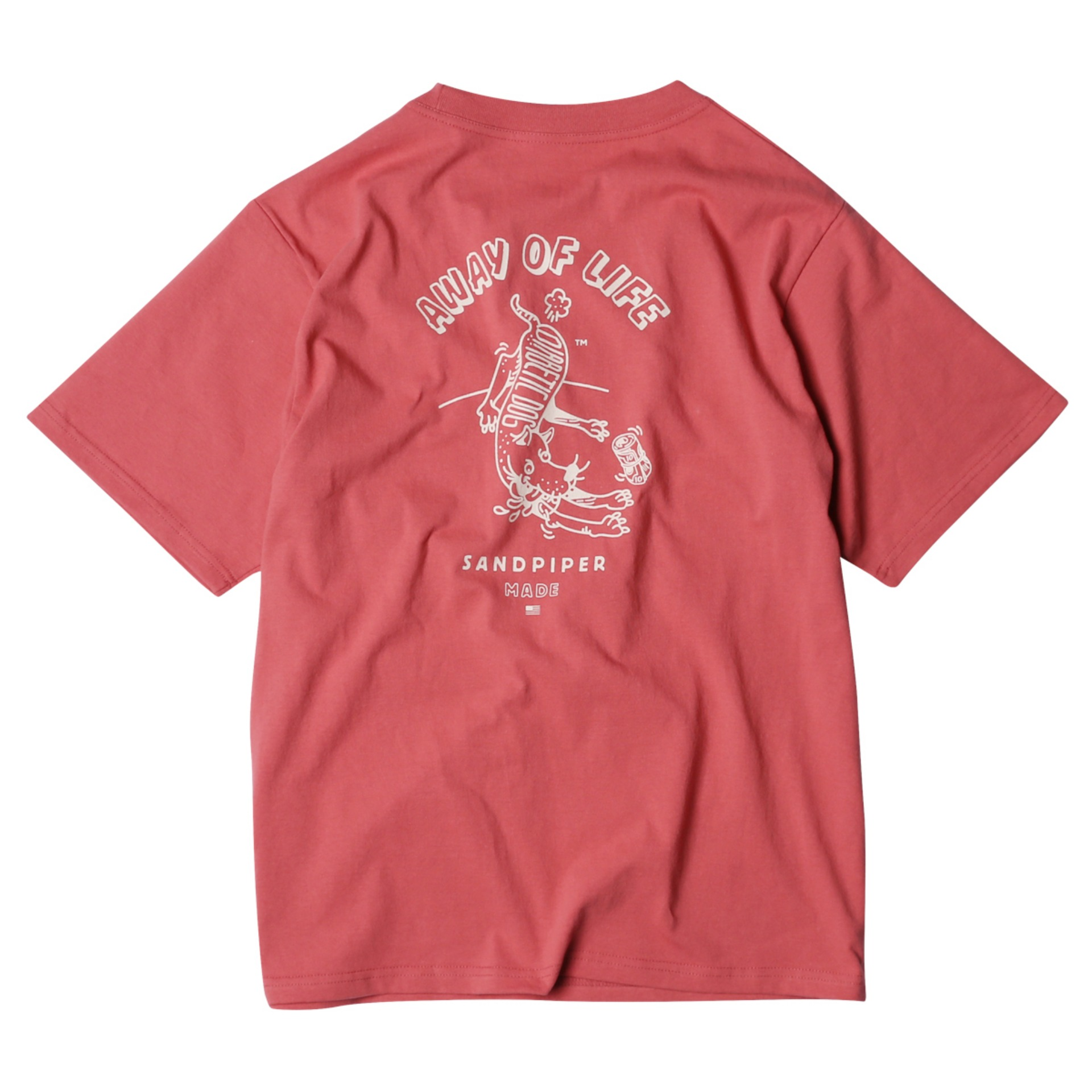 DIBETES DOG T SHIRTS(FADE BURGUNDY)