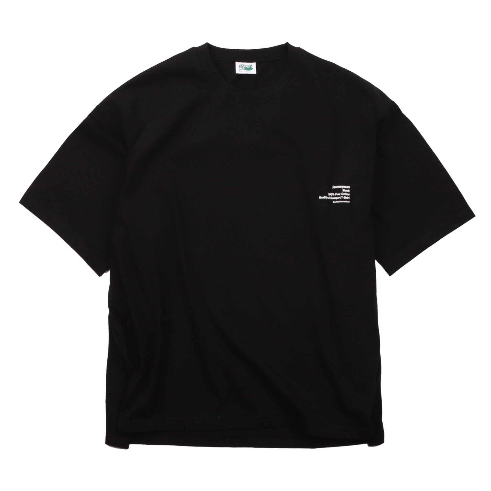 BLANK LOGO T-SHIRT (BLACK)