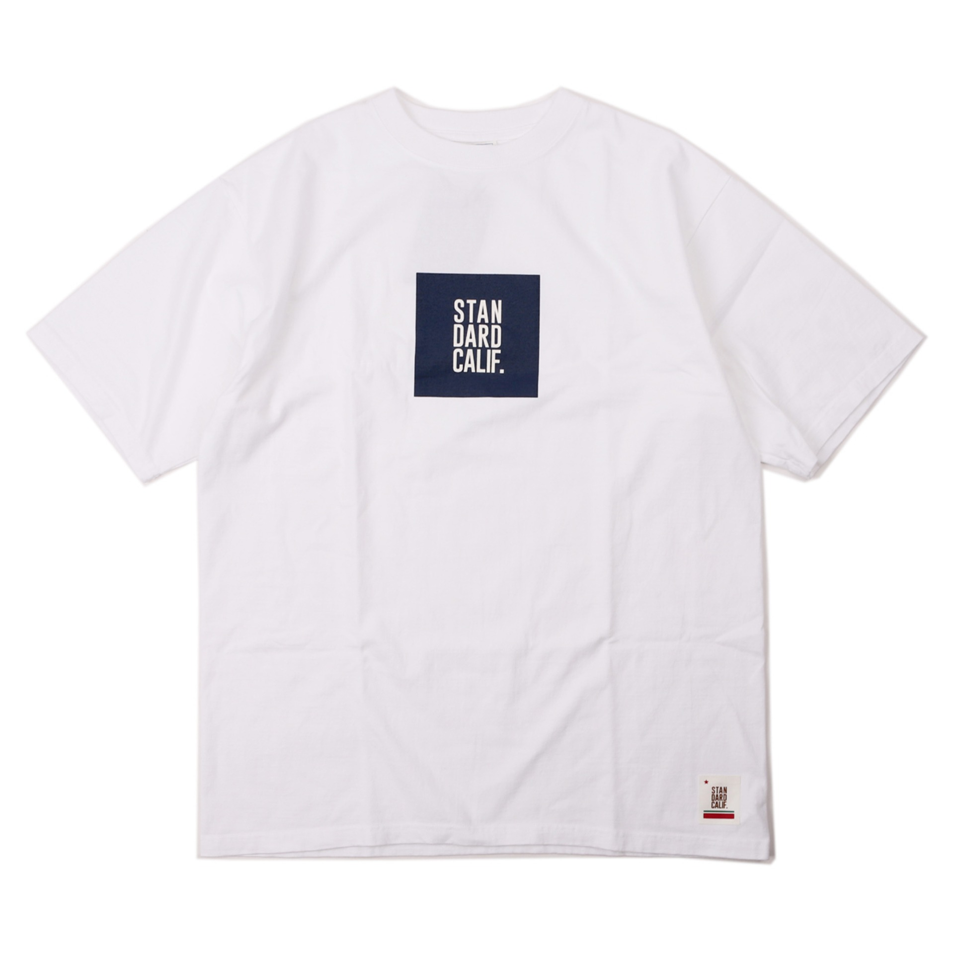 SD HEAVYWEIGHT BOX LOGO T (WHITE)