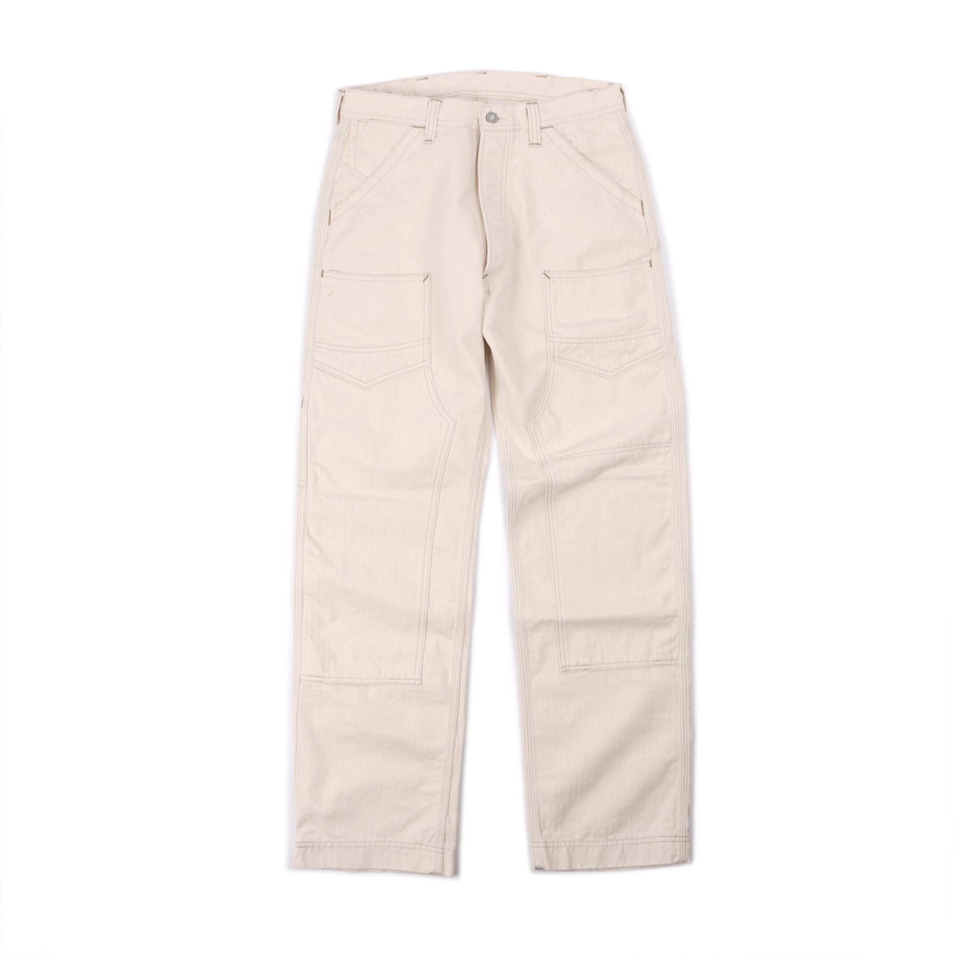"[Union Special Overalls]WORK PANTS""DERRICK MAN""(Raw White)"