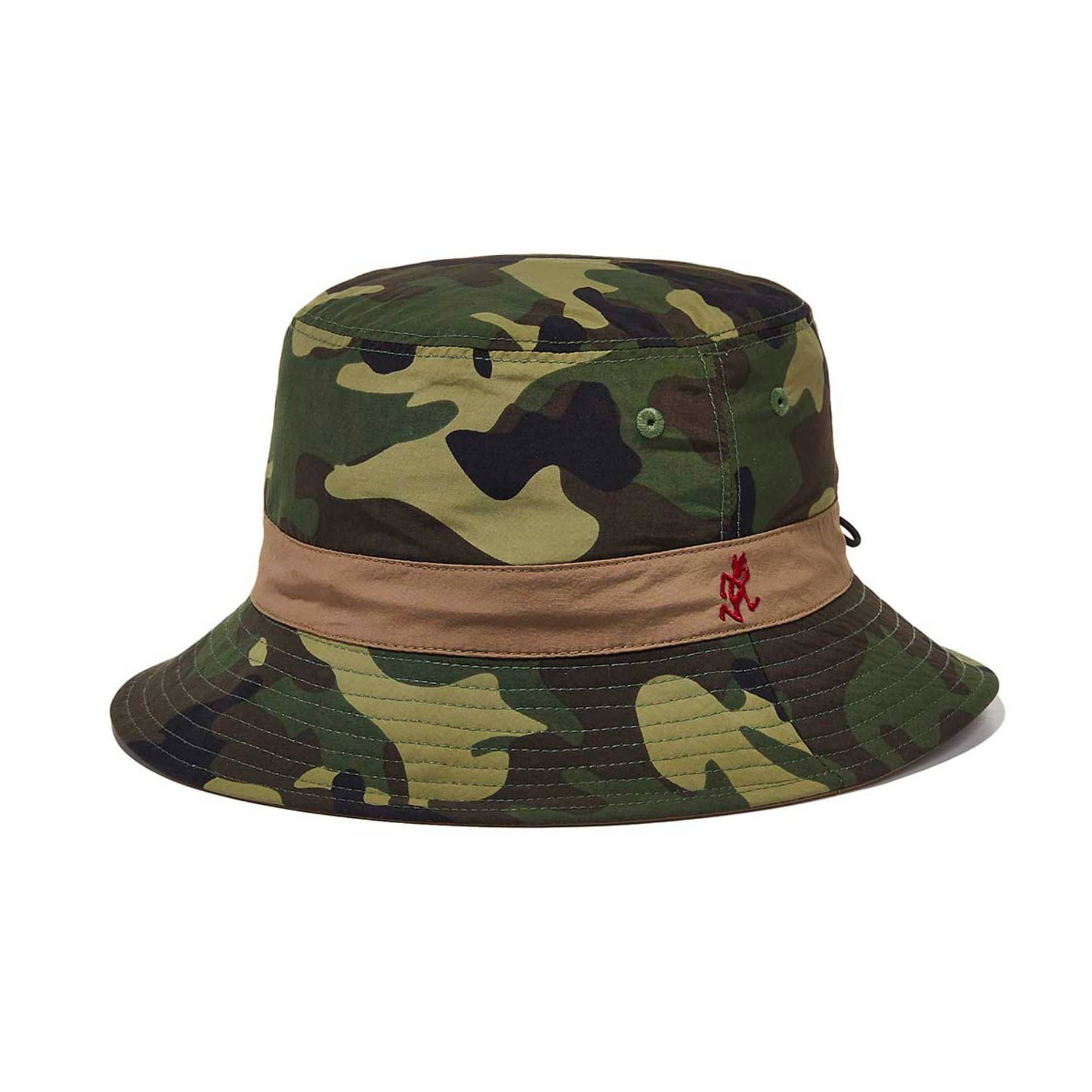 SHELL REVERSIBLE HAT(CAMO x TAN)