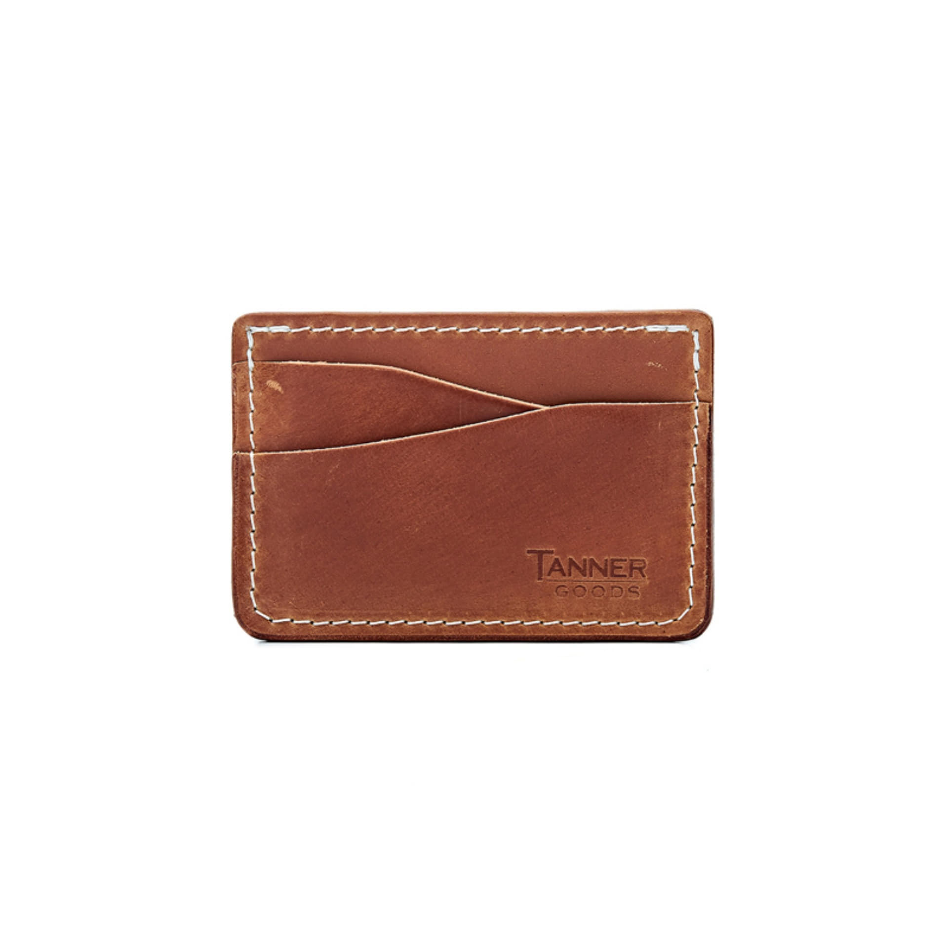 JOURNEYMAN CARD WALLET (NATURAL CORDOVAN)