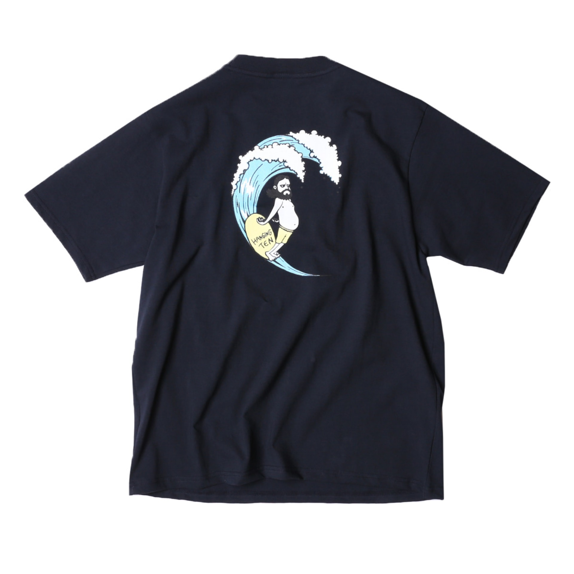 UNCLE SURF RETRO T SHIRTS (FADE NAVY)