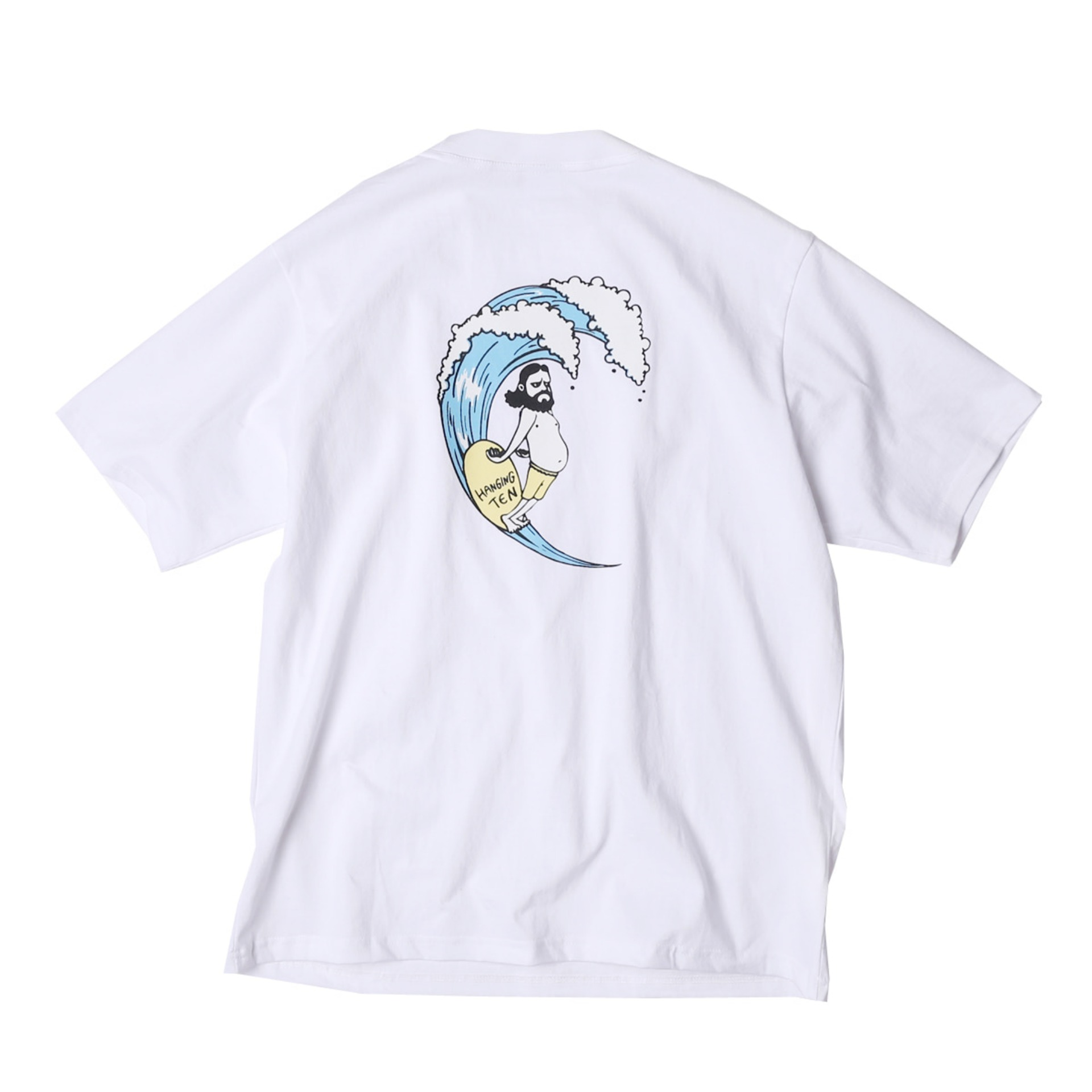 UNCLE SURF RETRO T SHIRTS(WHITE)