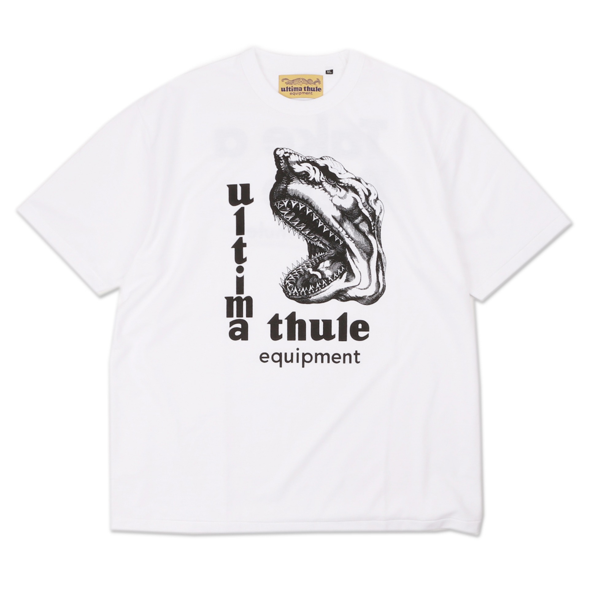 "[Ultima Thule]Equipment T-shirts""Take A Bite""(White)"