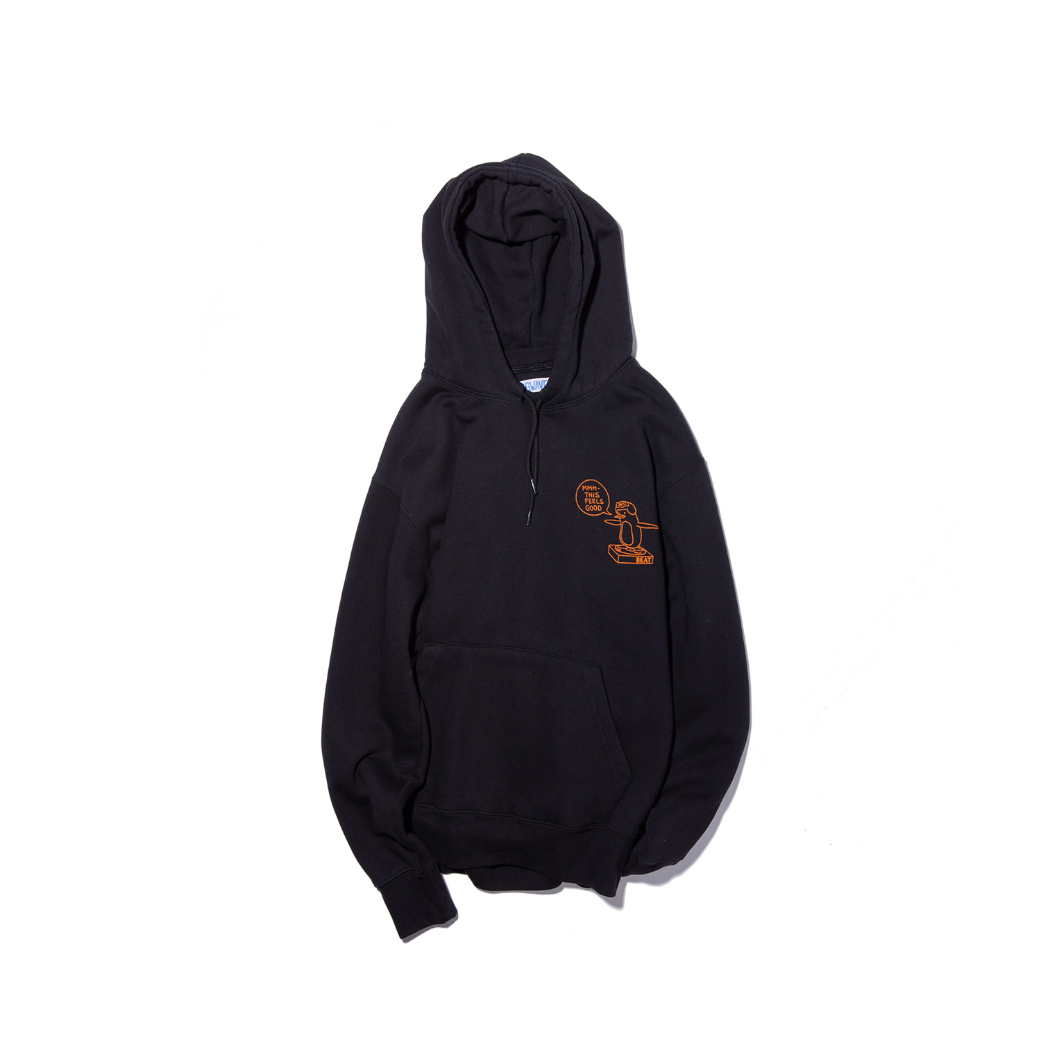 Big Wave BEAT HOODY BLACK