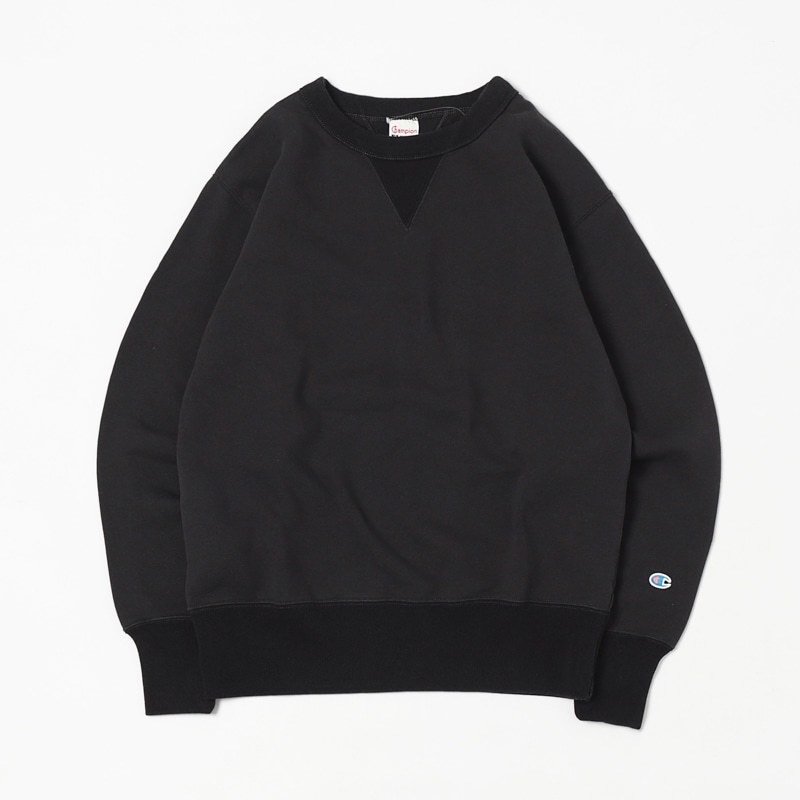 ROCHERSTER CREW NECK SWEAT (Black)