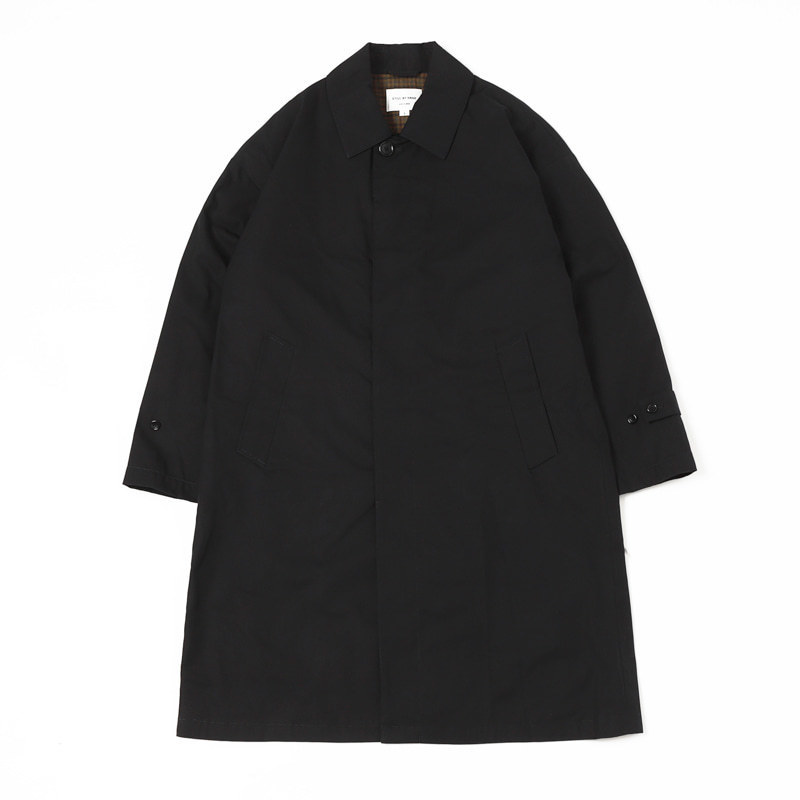 OVERSIZED BAL COLLAR COAT (Navy)