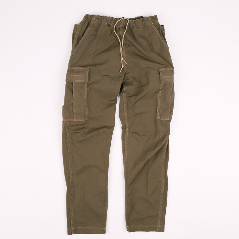EASY CARGO PANTS (KHAKI BROWN)
