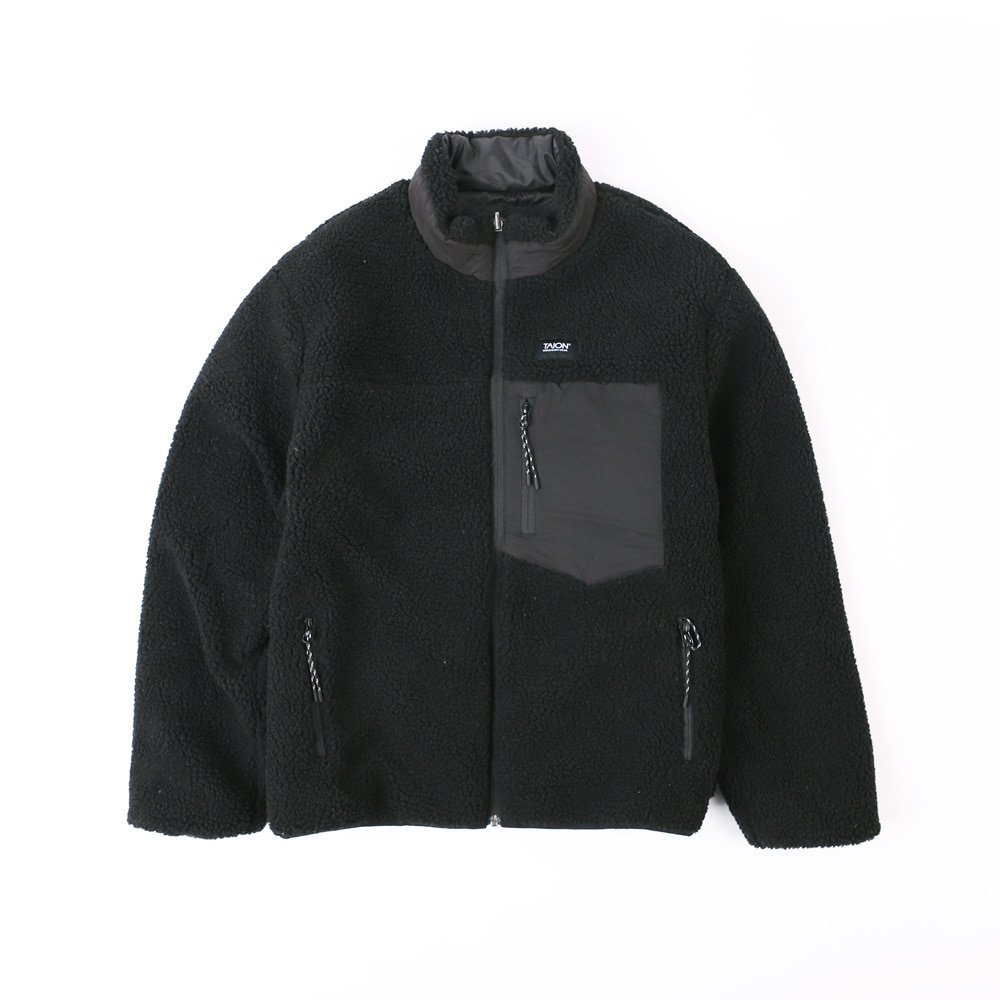 DOWN x BOA REVERSIBLE DOWN JACKET TAION-R102MB (Black)