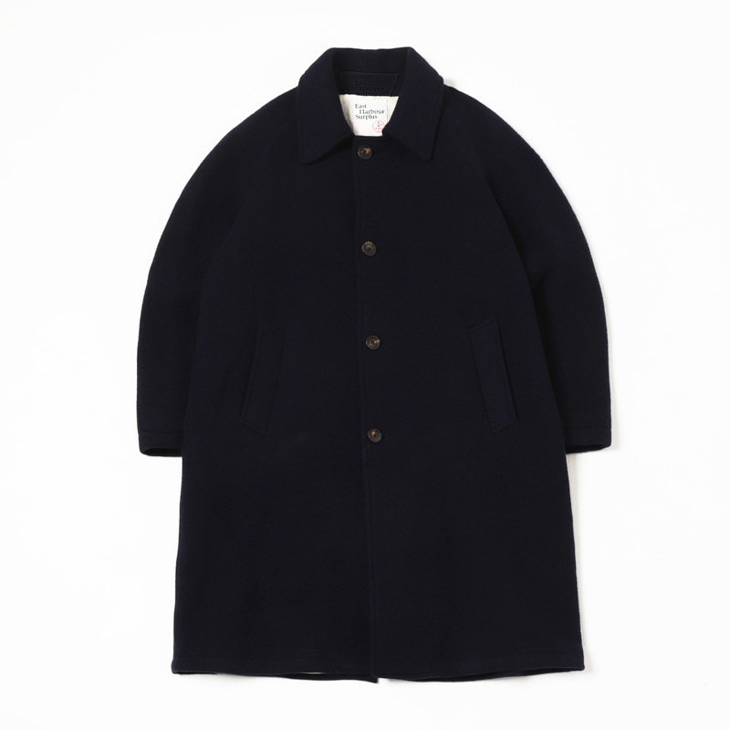 PETER LONG COAT (DARK NAVY)