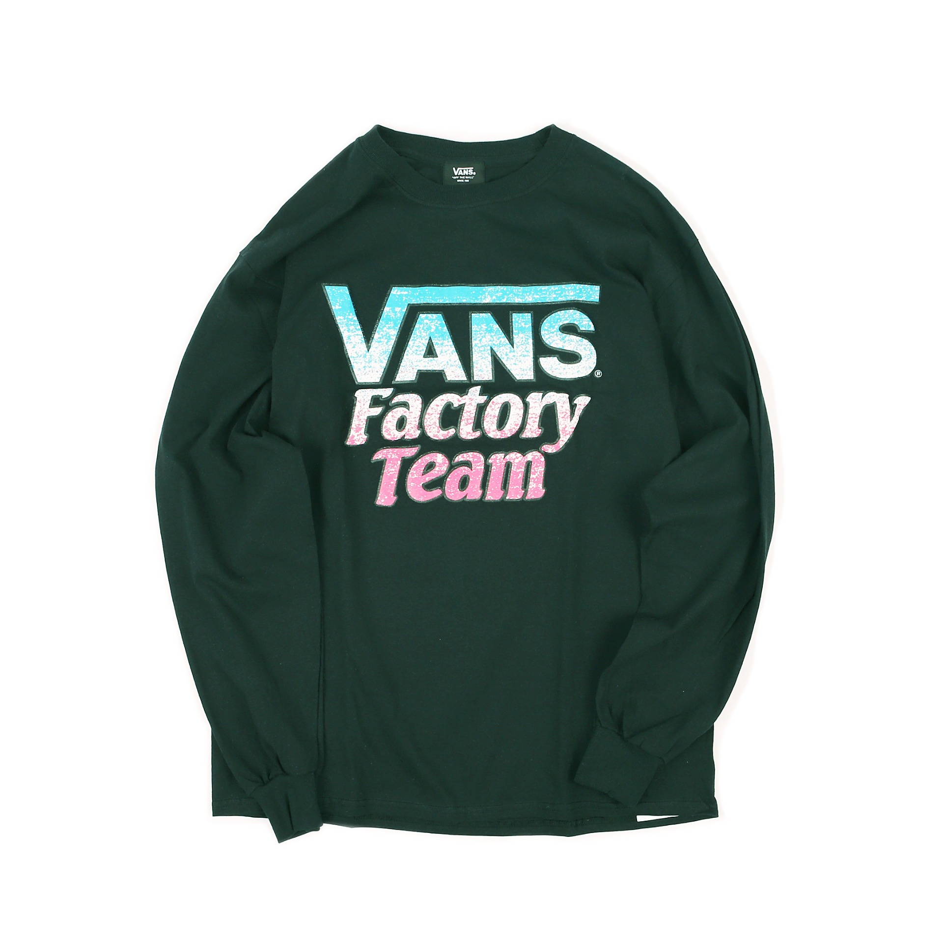 SD X VANS FACTORY TEAM LS TEE (Black)