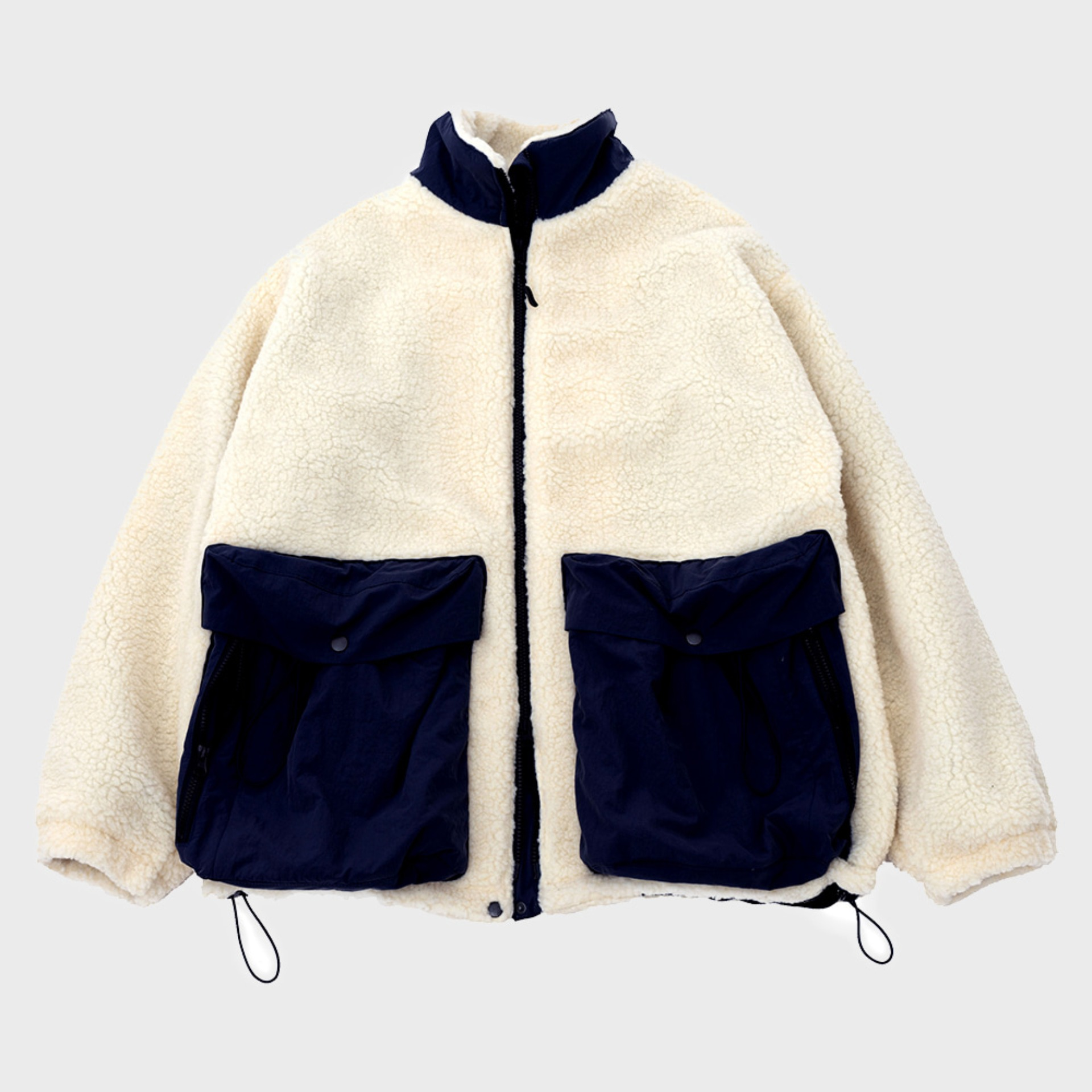 SOLID FLEECE (White)