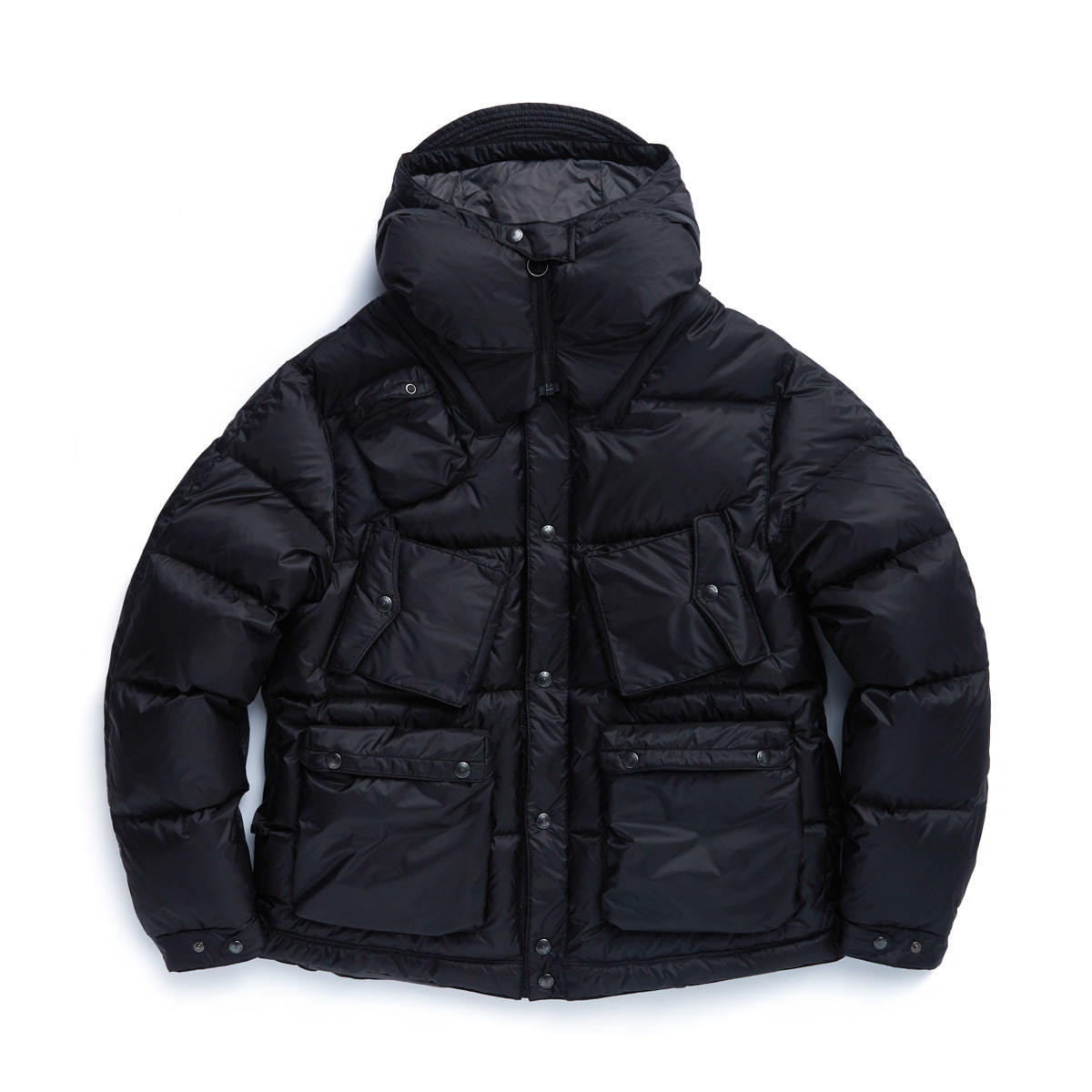 C-1 DOWN PARKA (BLACK QUANTUM)