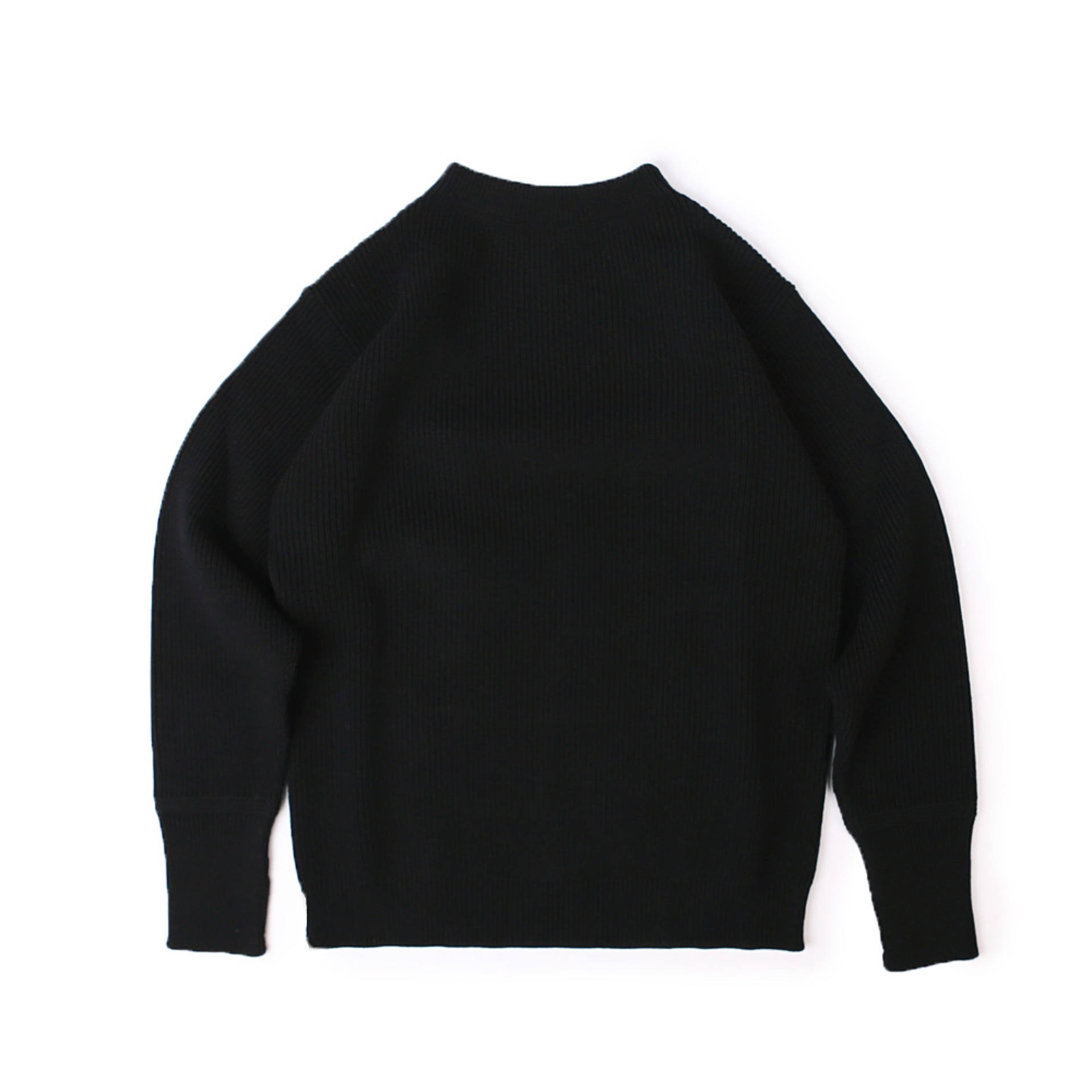 SAILOR CREWNECK SWEATER (Black)