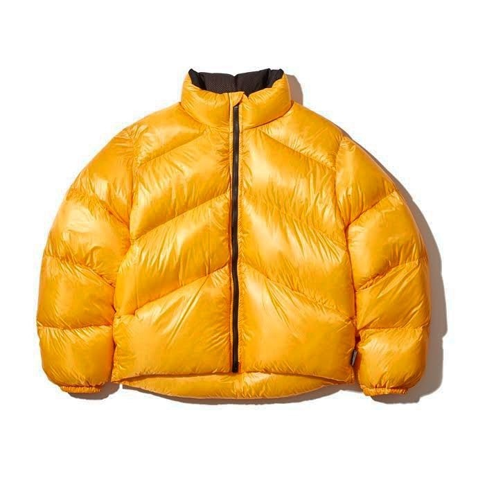 [NICE STUFFIN COLLECTION] NS DOWN JACKET (Safety Yellow)