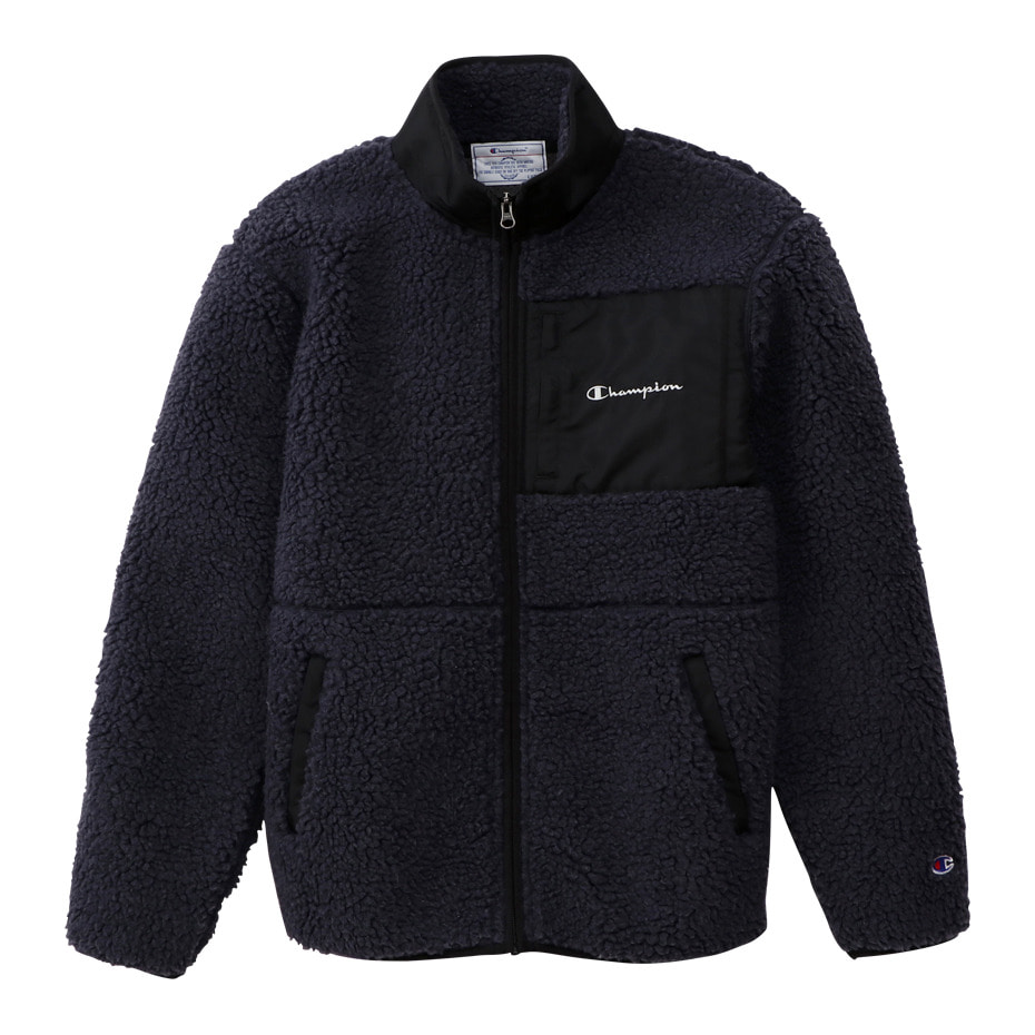 BOA FLEECE ZIP JACKET (Charcol)