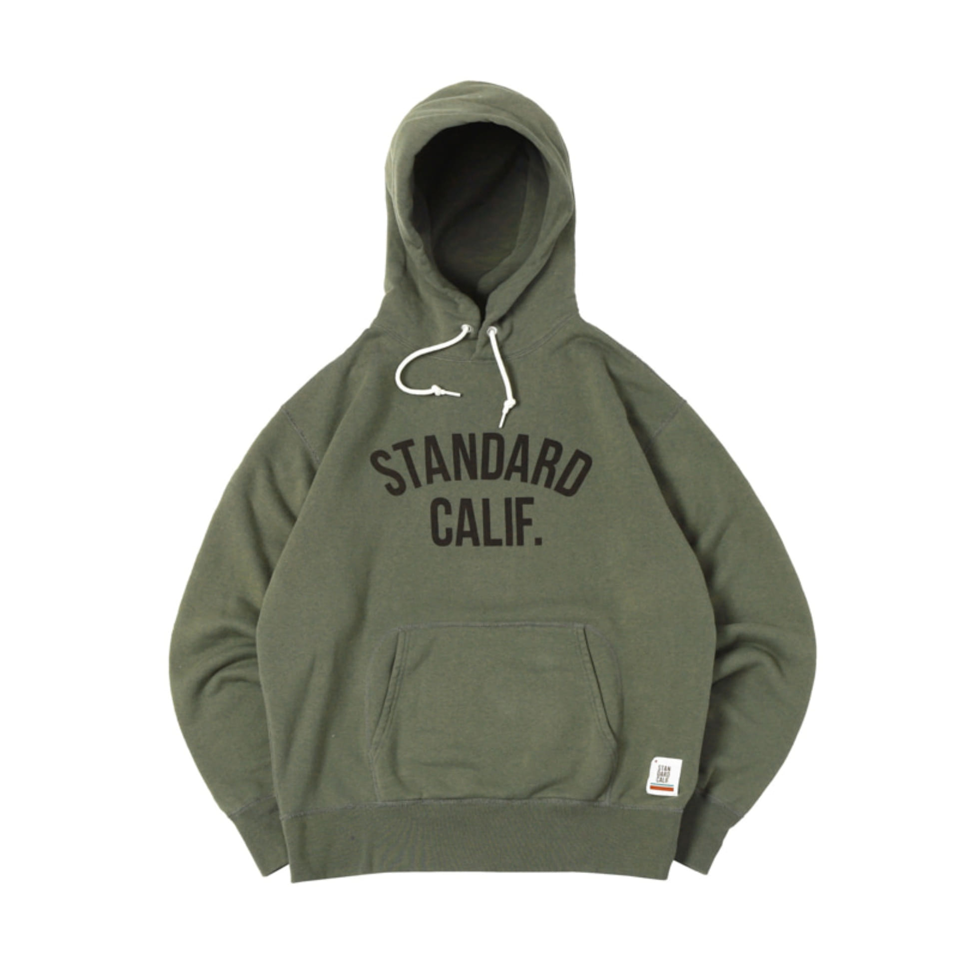 SD Pullover Hood Sweat with Logo (Olive)