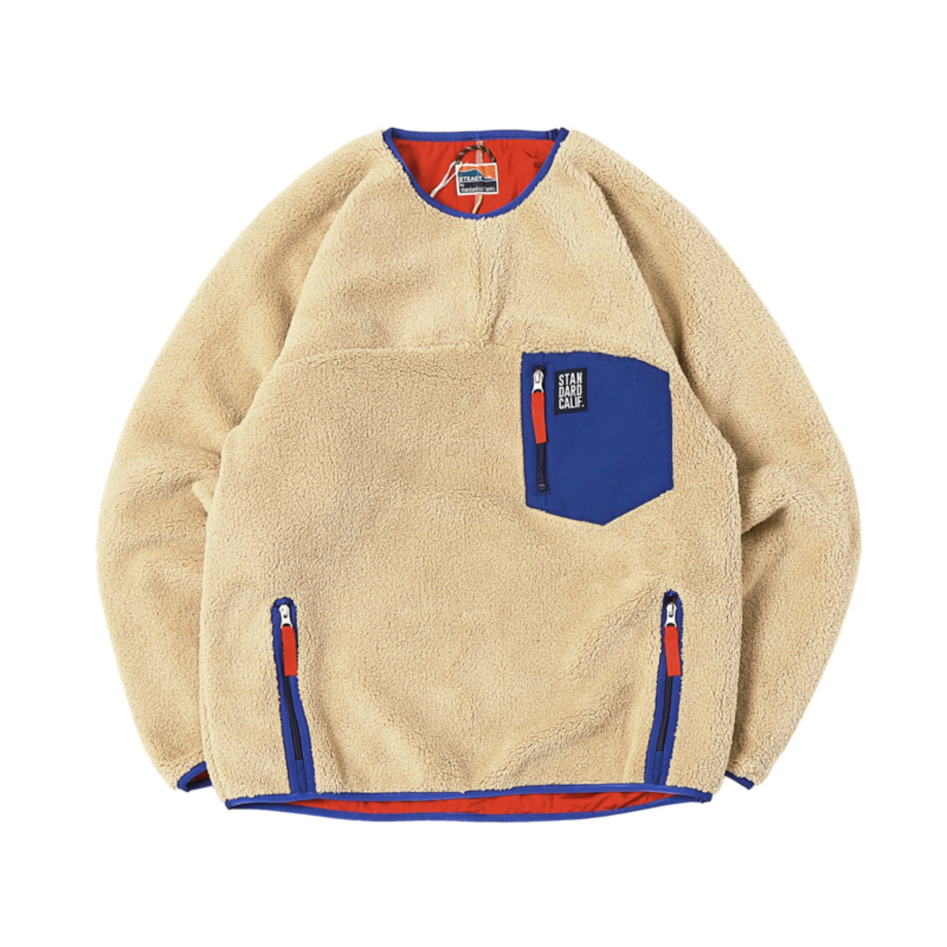 SD Classic Pile Pullover / DLS L + 2  (Beige)