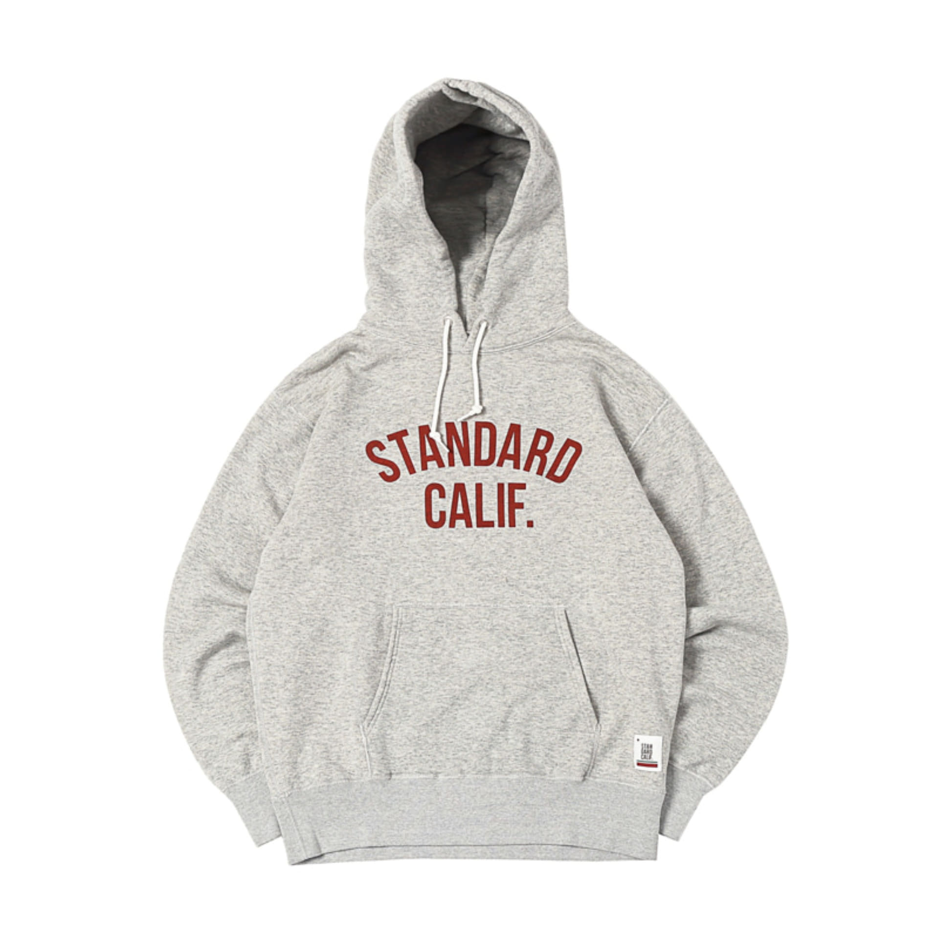 SD Pullover Hood Sweat with Logo (Heather Gray)