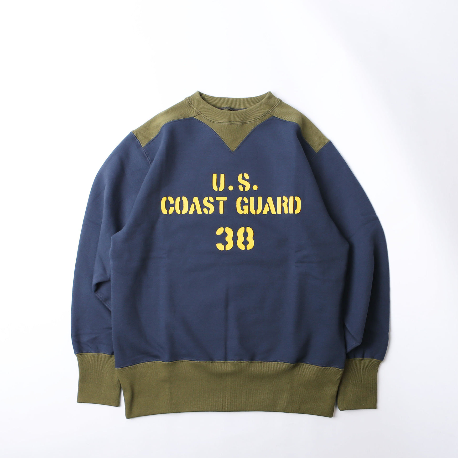 "[Power Wear]Athletic SweatShirt""U.S. COAST GUARD""(OLD NAVY x OLIVE)"