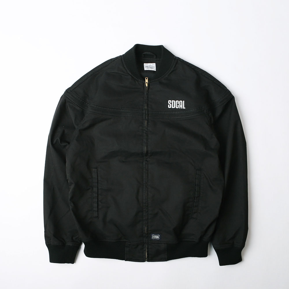 SD COOLMAX STRECH TWILL DERBY JACKET (Black)