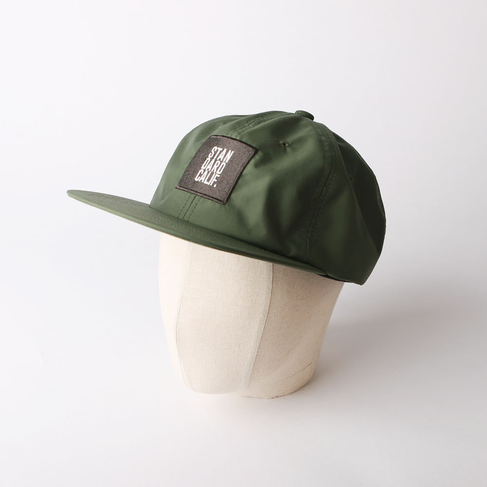 SD 3LAYER BOX LOGO CAP (Olive)