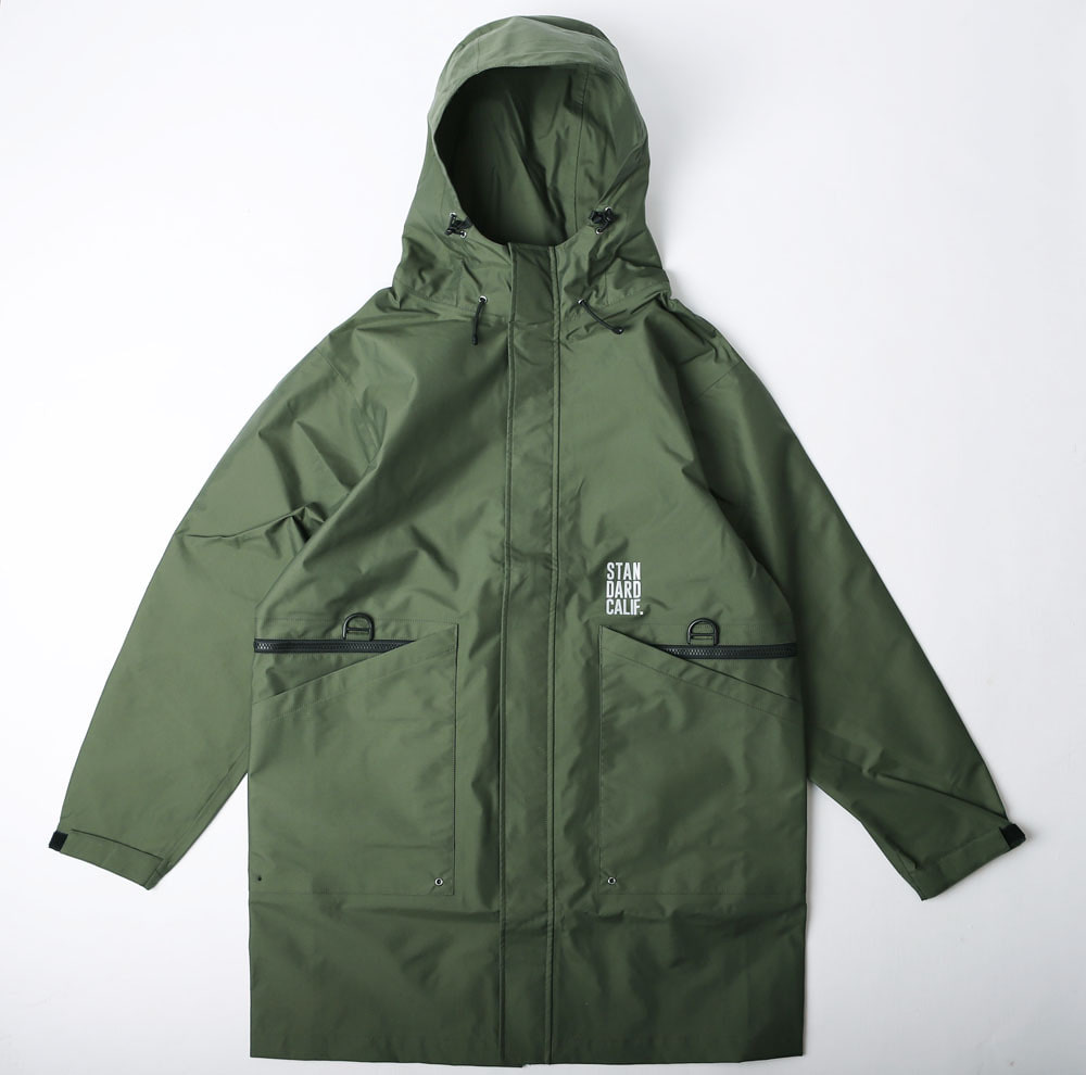 SD 3 LAYER FIELD HOOD COAT (Olive)