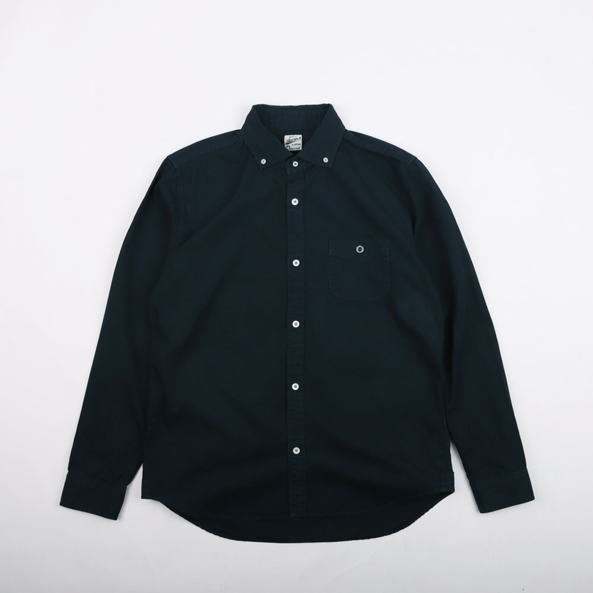 SPREAD COLLAR OXFORD SHIRTS (Navy)