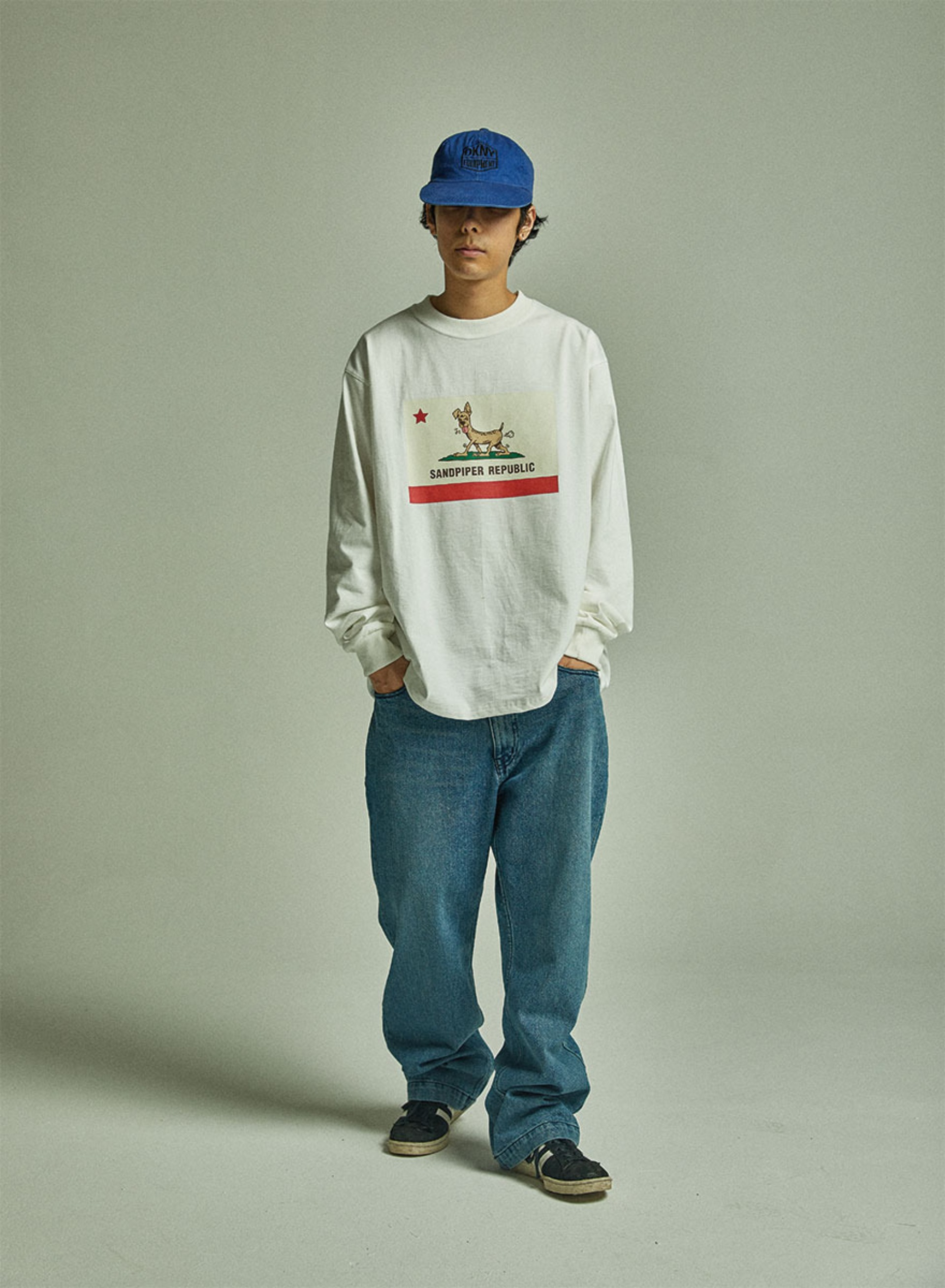 SANDPIPER REPUBLIC LS T SHIRTS (Off White)