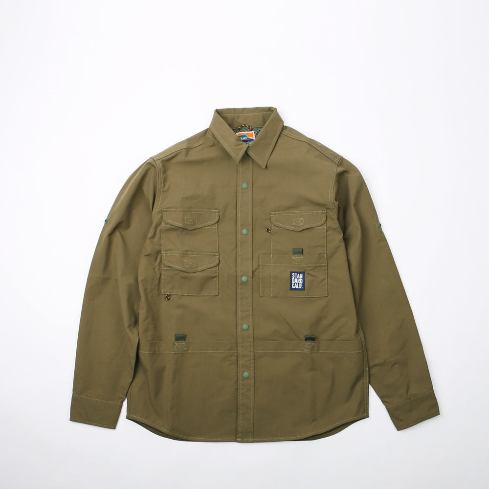 SD Coolmax Stretch Duck Field Shirt (Olive)